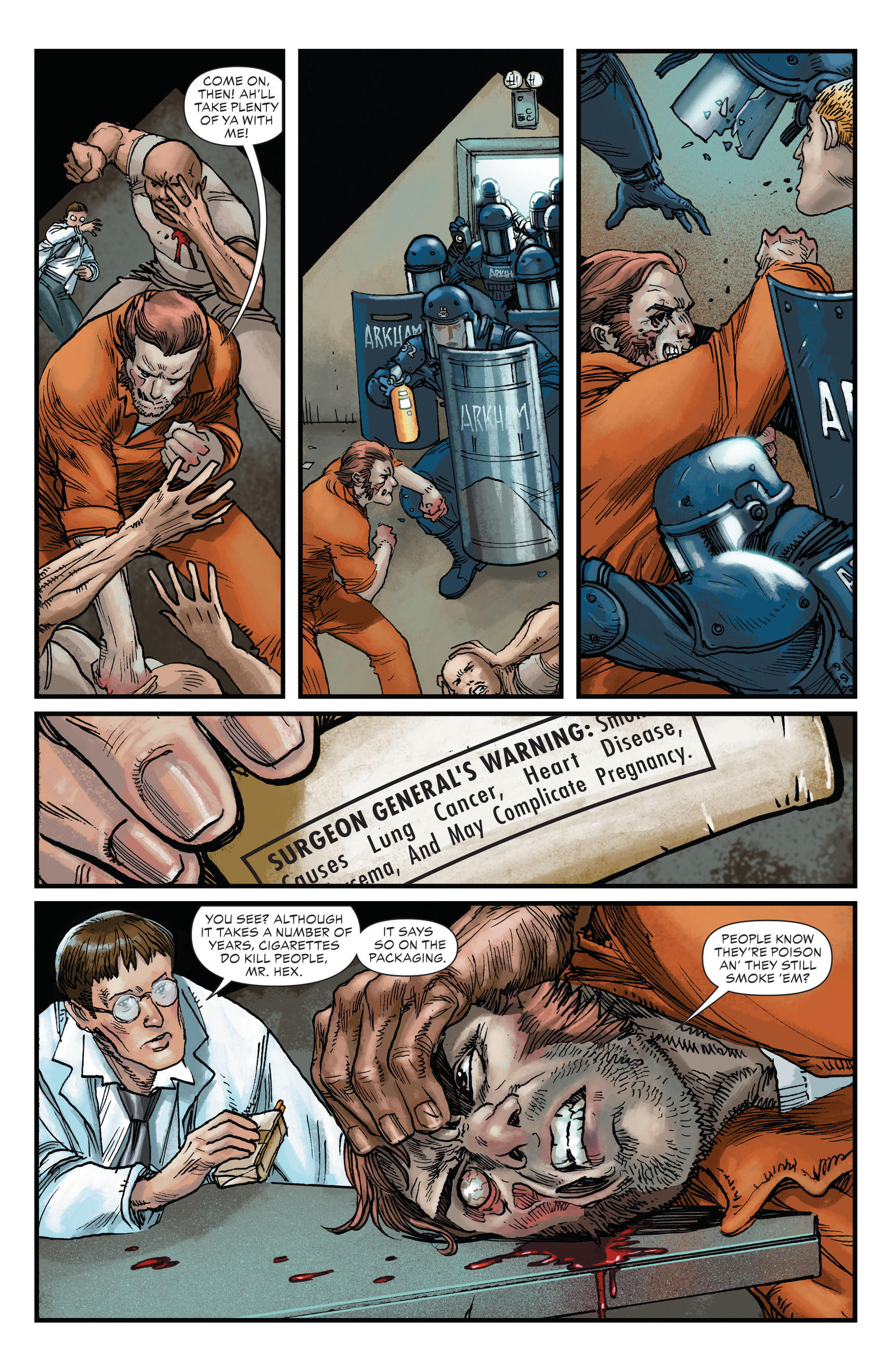 Read online All-Star Western (2011) comic -  Issue #22 - 5