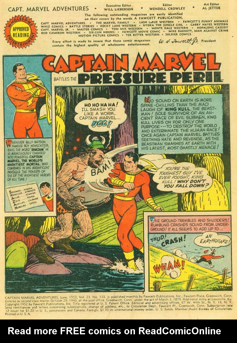 Captain Marvel Adventures issue 133 - Page 3