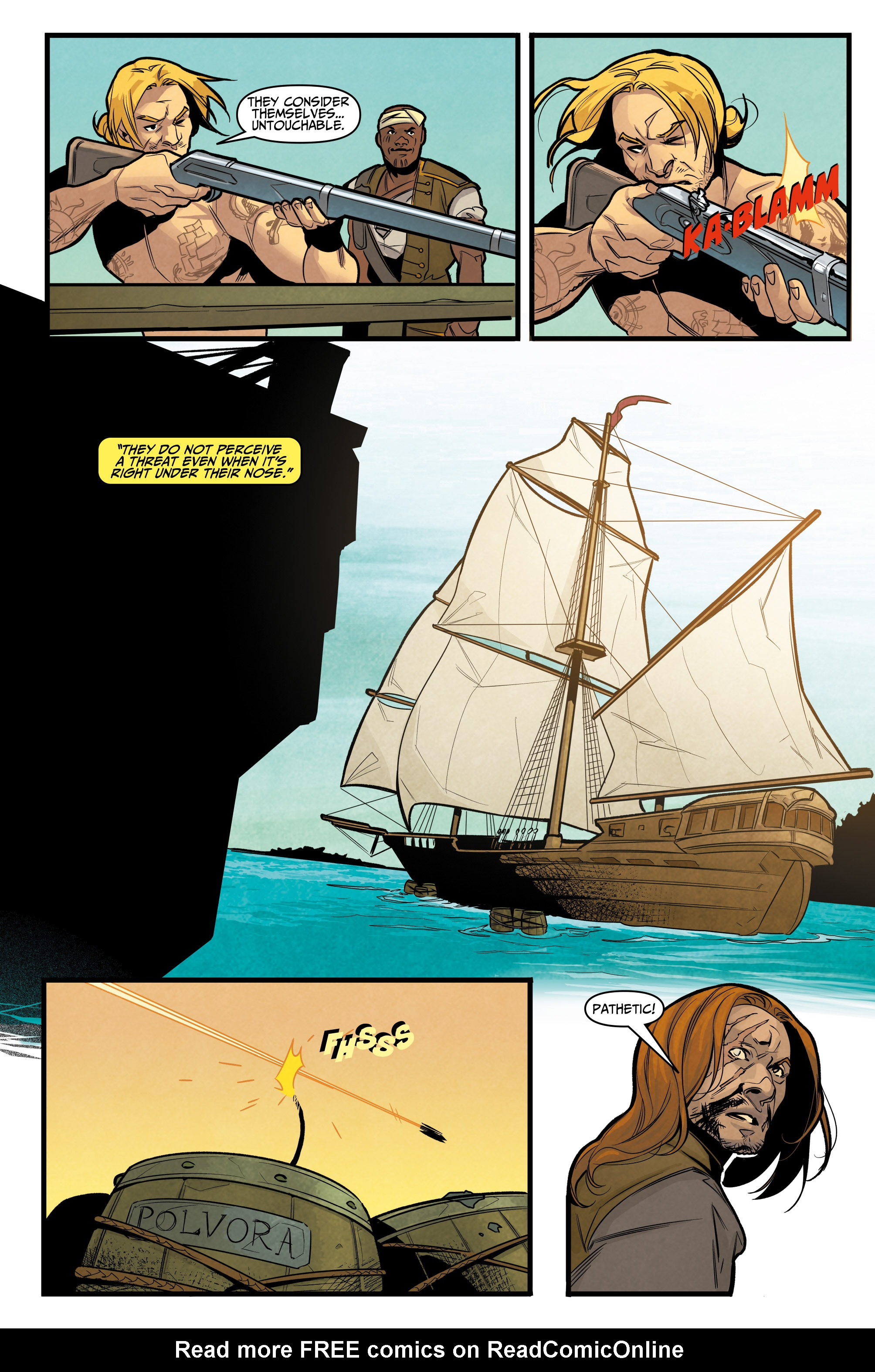 Read online Assassin's Creed: Reflections comic -  Issue #3 - 21
