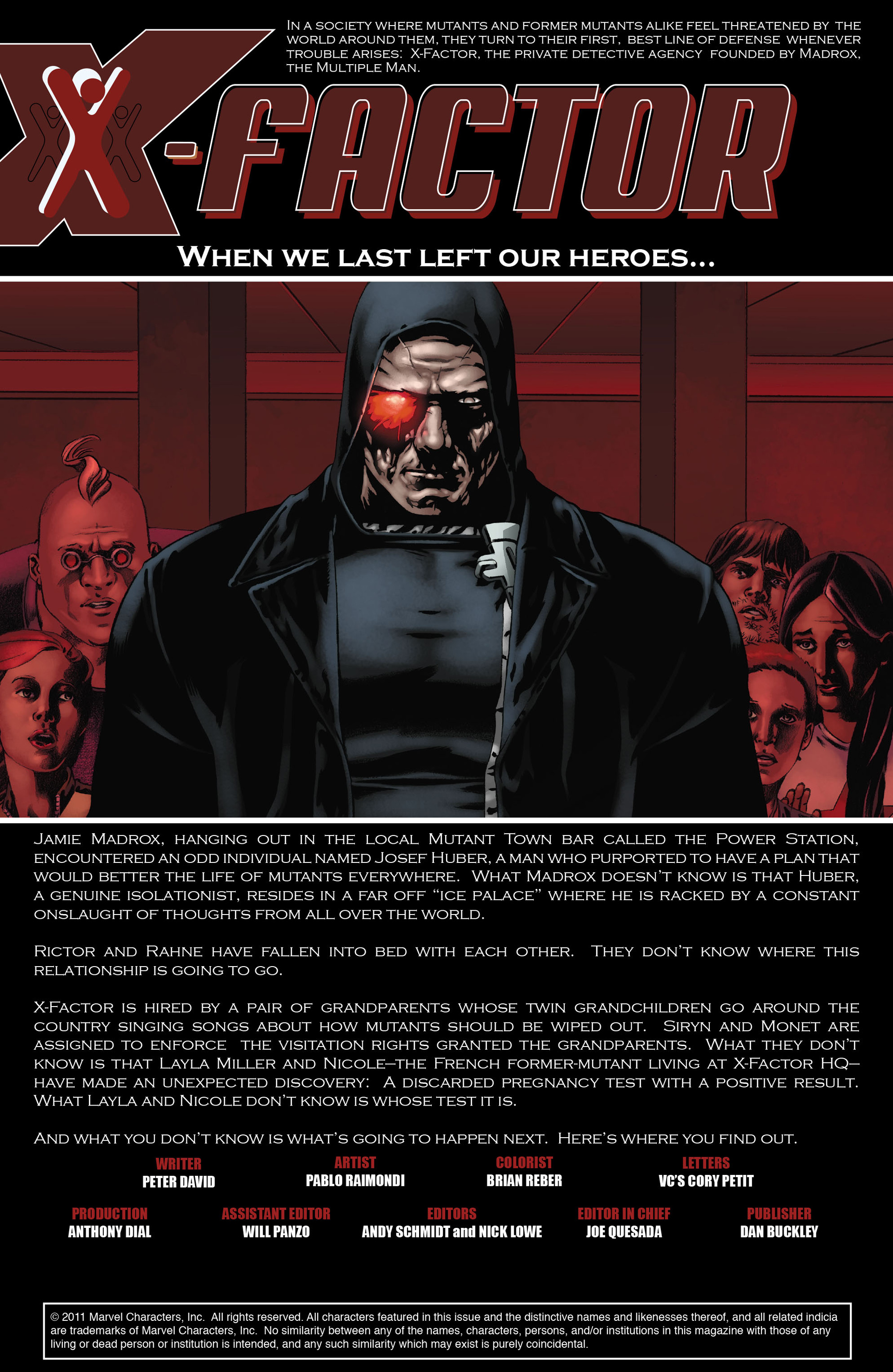 Read online X-Factor (2006) comic -  Issue #22 - 4