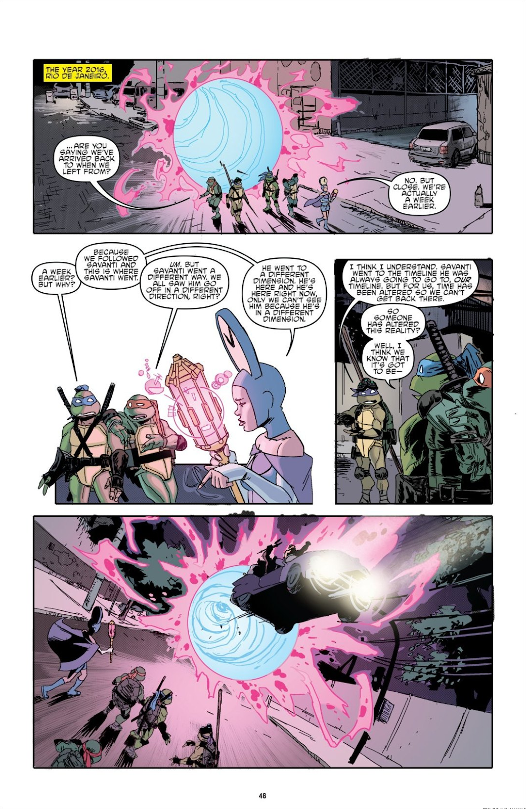 Read online Teenage Mutant Ninja Turtles: The IDW Collection comic -  Issue # TPB 8 (Part 1) - 46