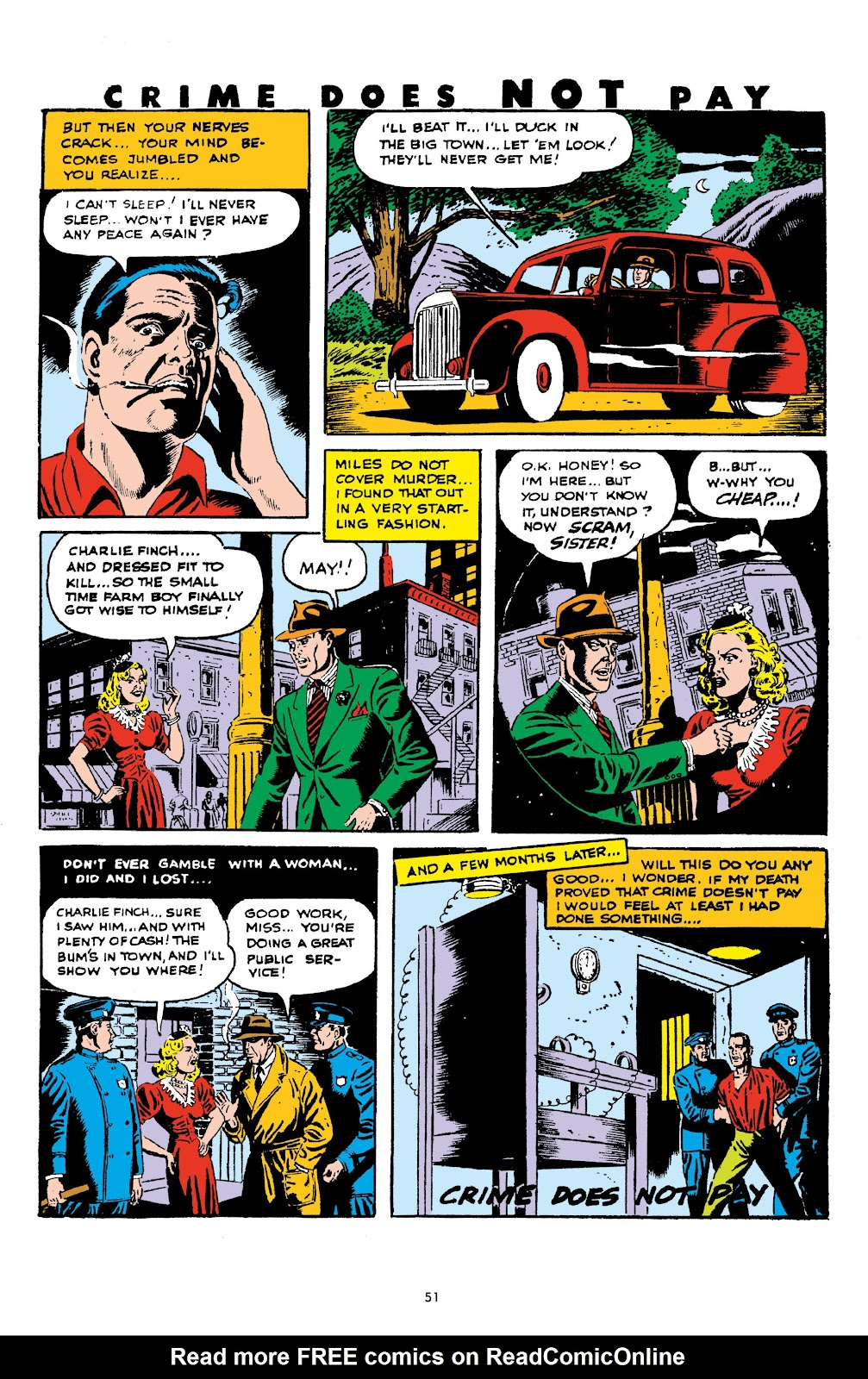 Read online Crime Does Not Pay Archives comic -  Issue # TPB 5 (Part 1) - 51