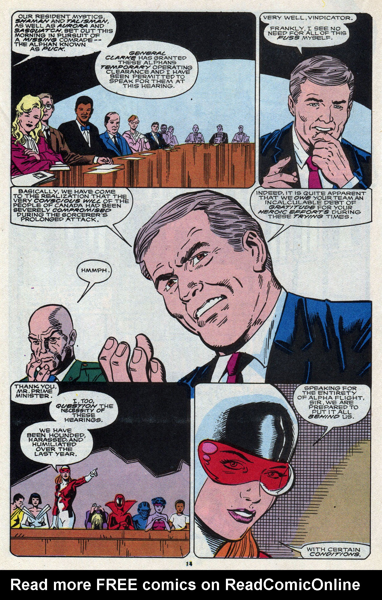Read online Alpha Flight (1983) comic -  Issue #87 - 16