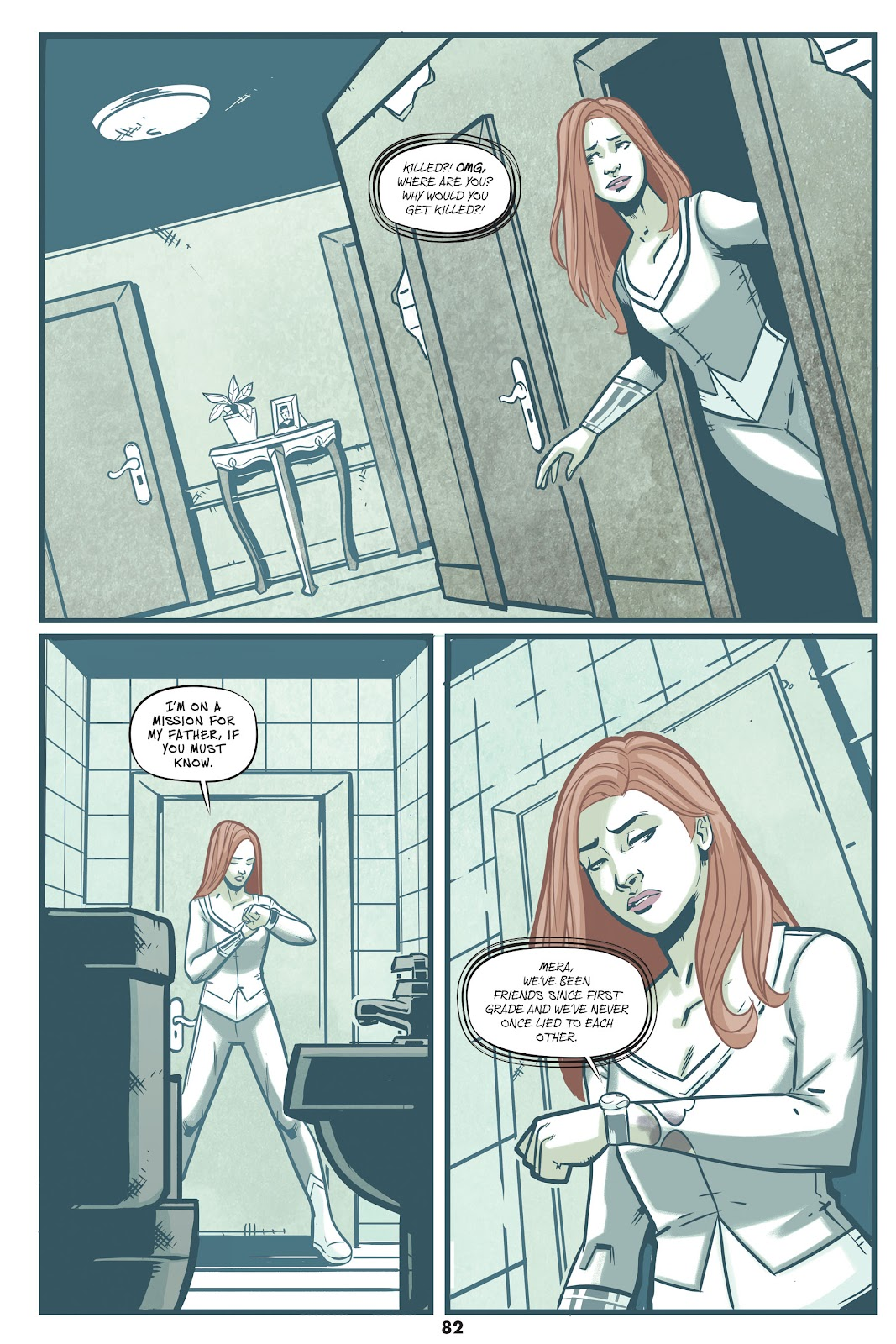 Read online Mera: Tidebreaker comic -  Issue # TPB (Part 1) - 82
