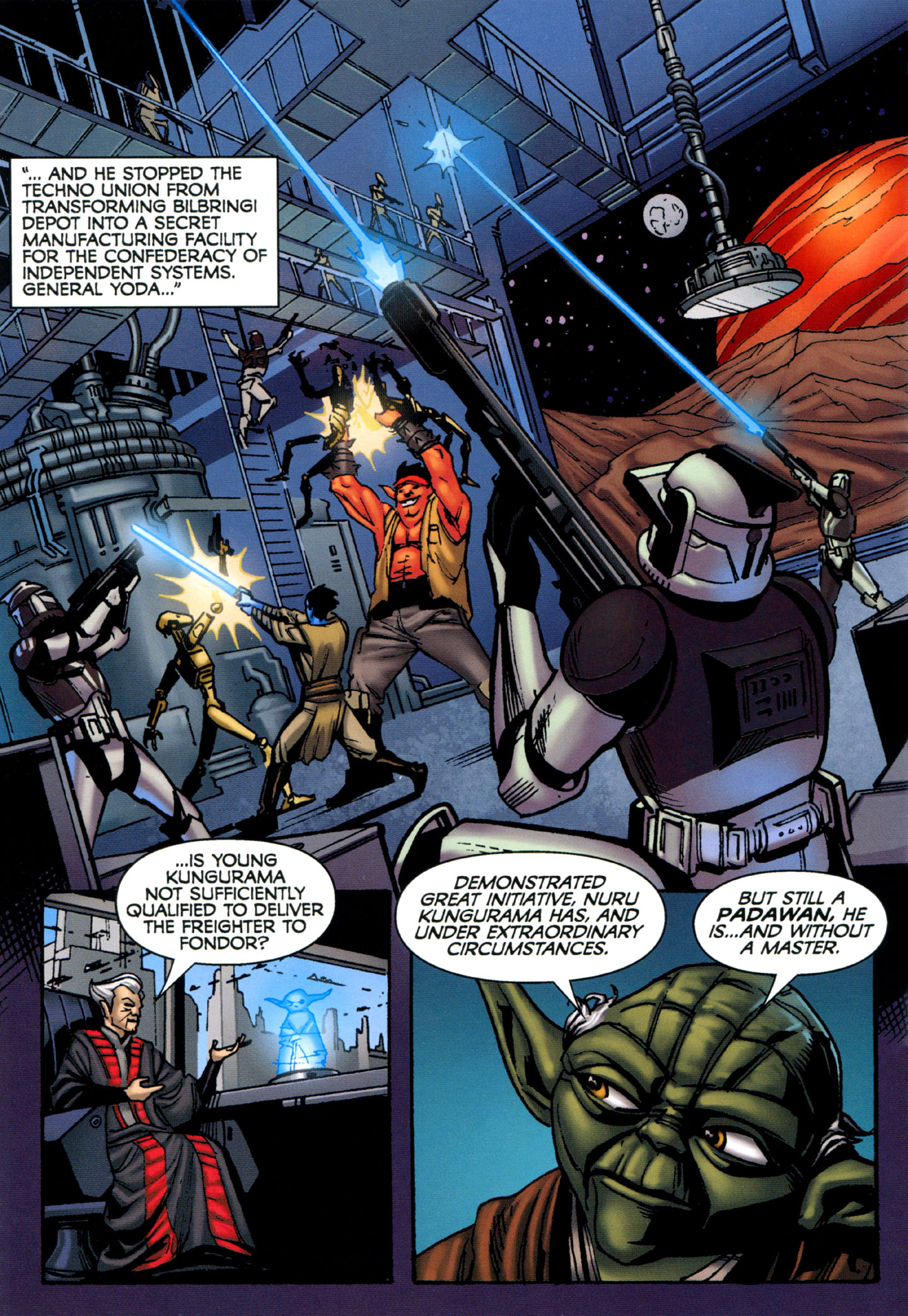 Read online Star Wars: The Clone Wars - Strange Allies comic -  Issue # Full - 15