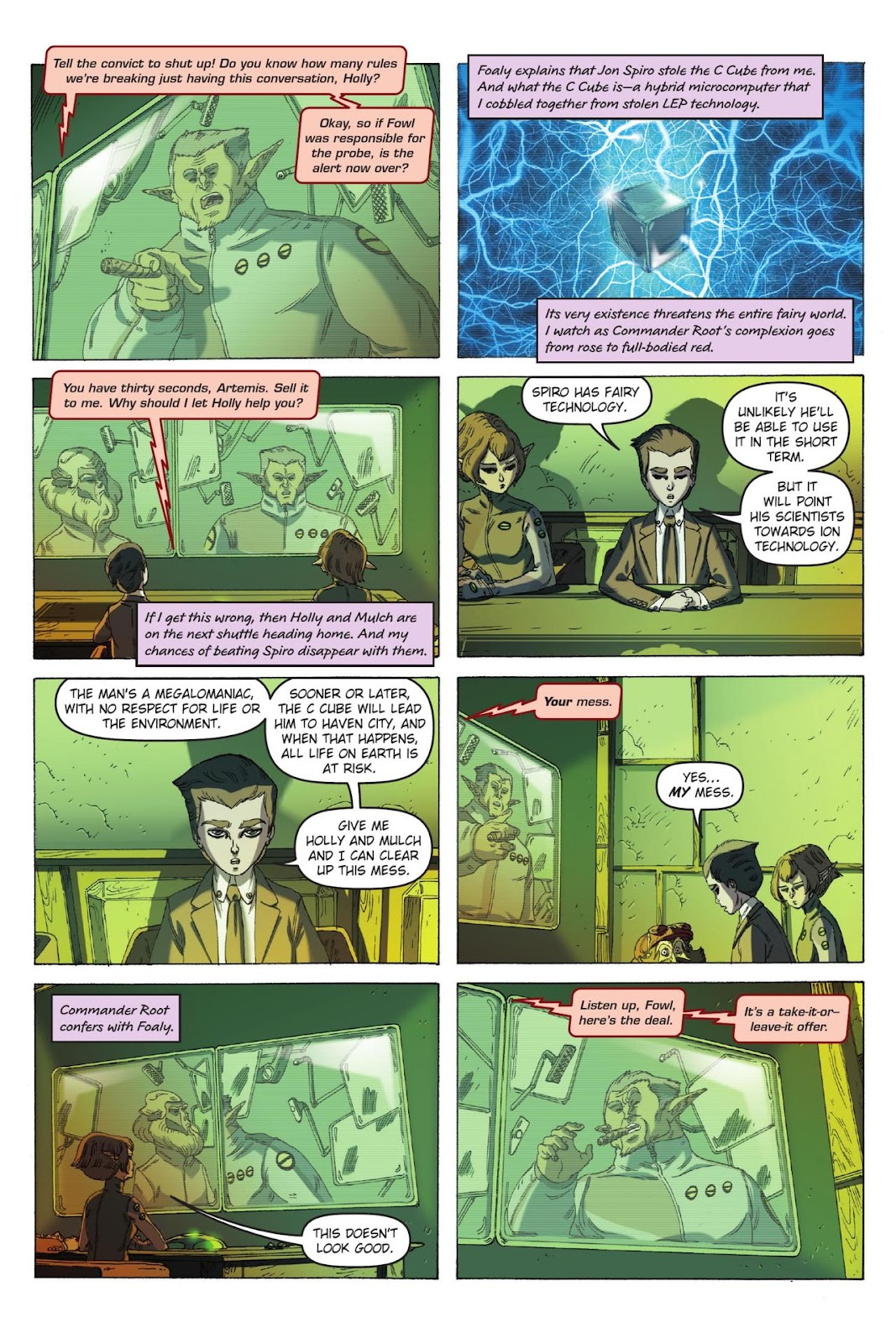 Artemis Fowl: The Eternity Code issue TPB - Page 64