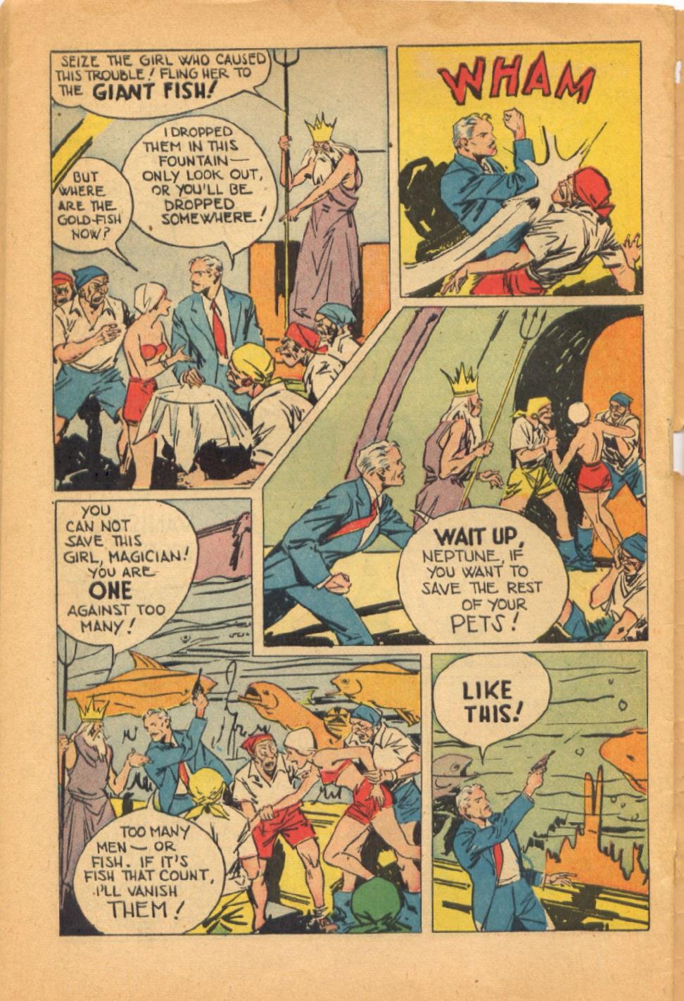 Read online Super-Magician Comics comic -  Issue #38 - 48