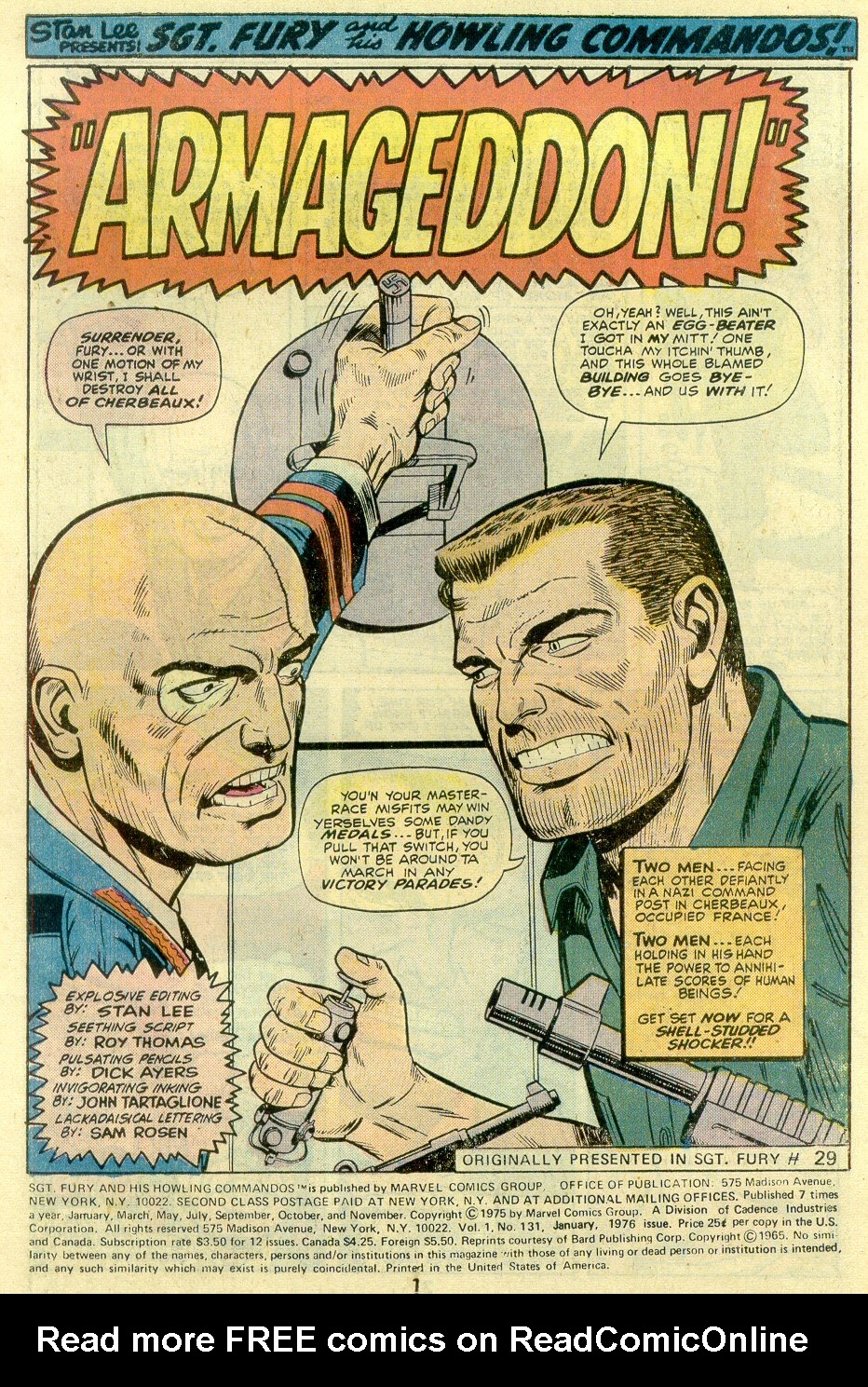 Read online Sgt. Fury comic -  Issue #131 - 3
