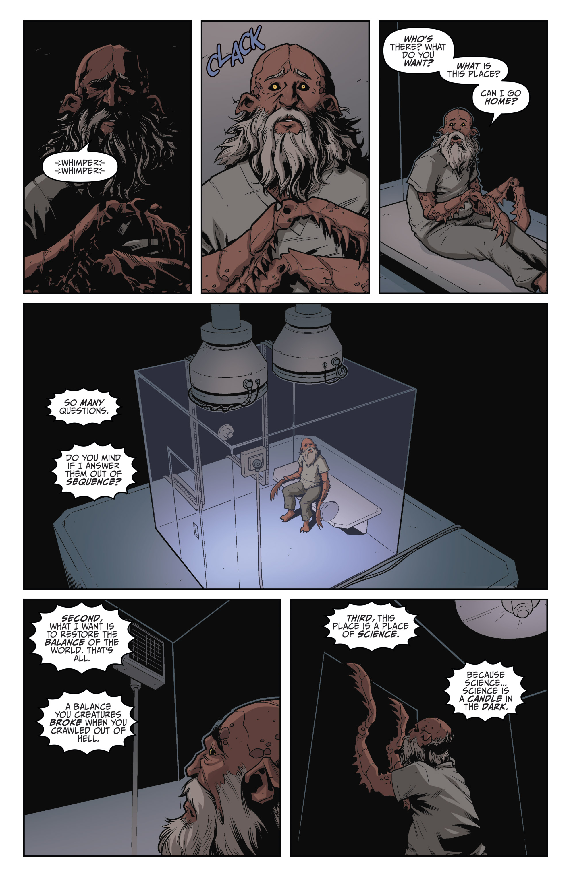 Read online Darkness Visible comic -  Issue #5 - 21