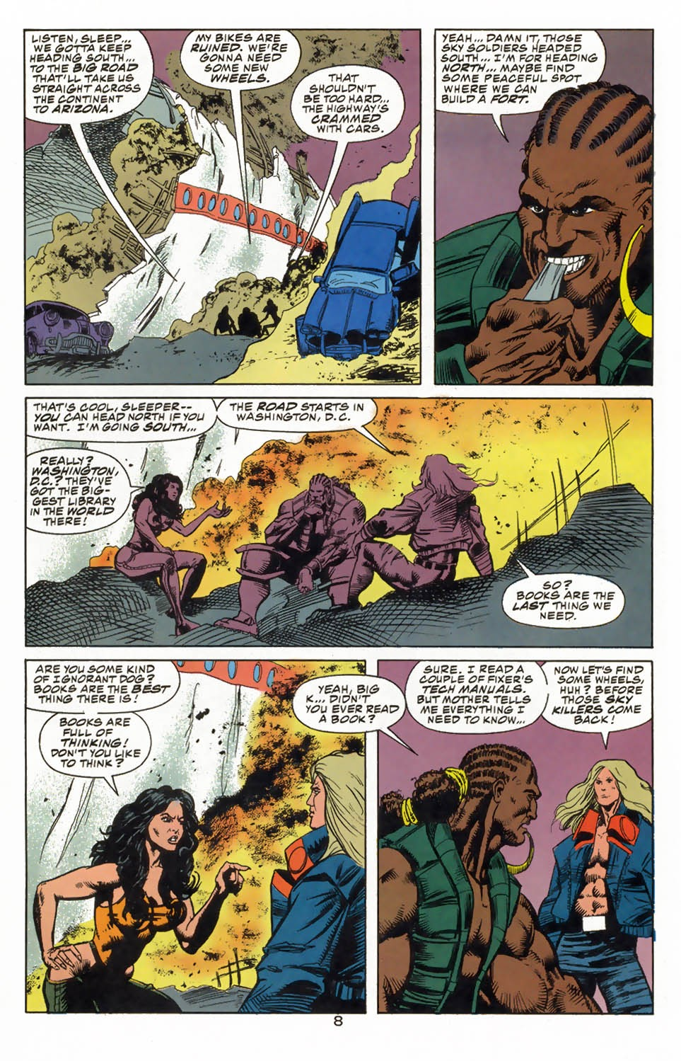 Read online Kamandi: At Earth's End comic -  Issue #3 - 10
