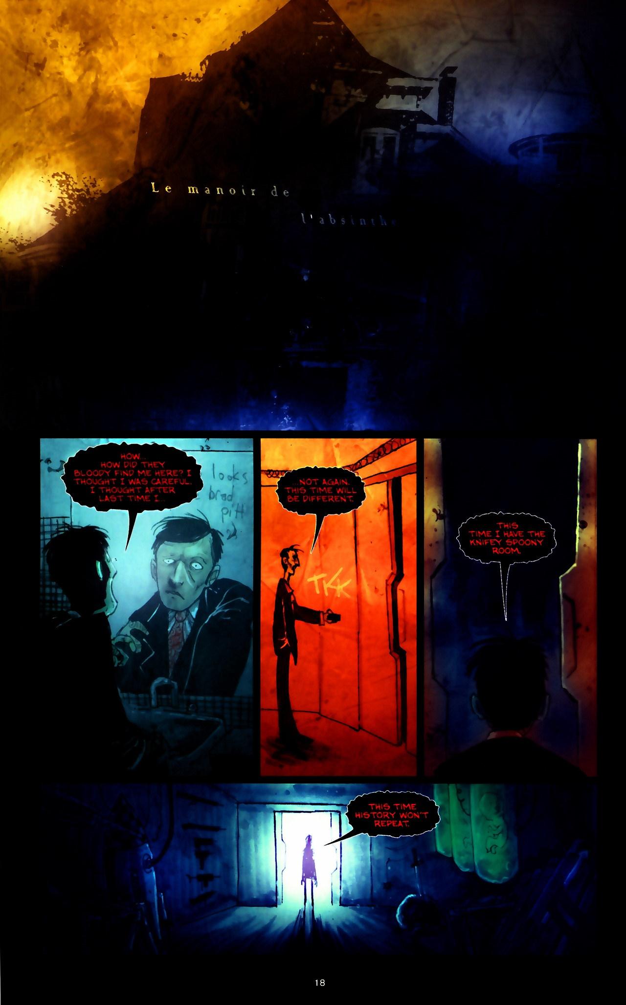 Read online Wormwood: Gentleman Corpse comic -  Issue #9 - 20