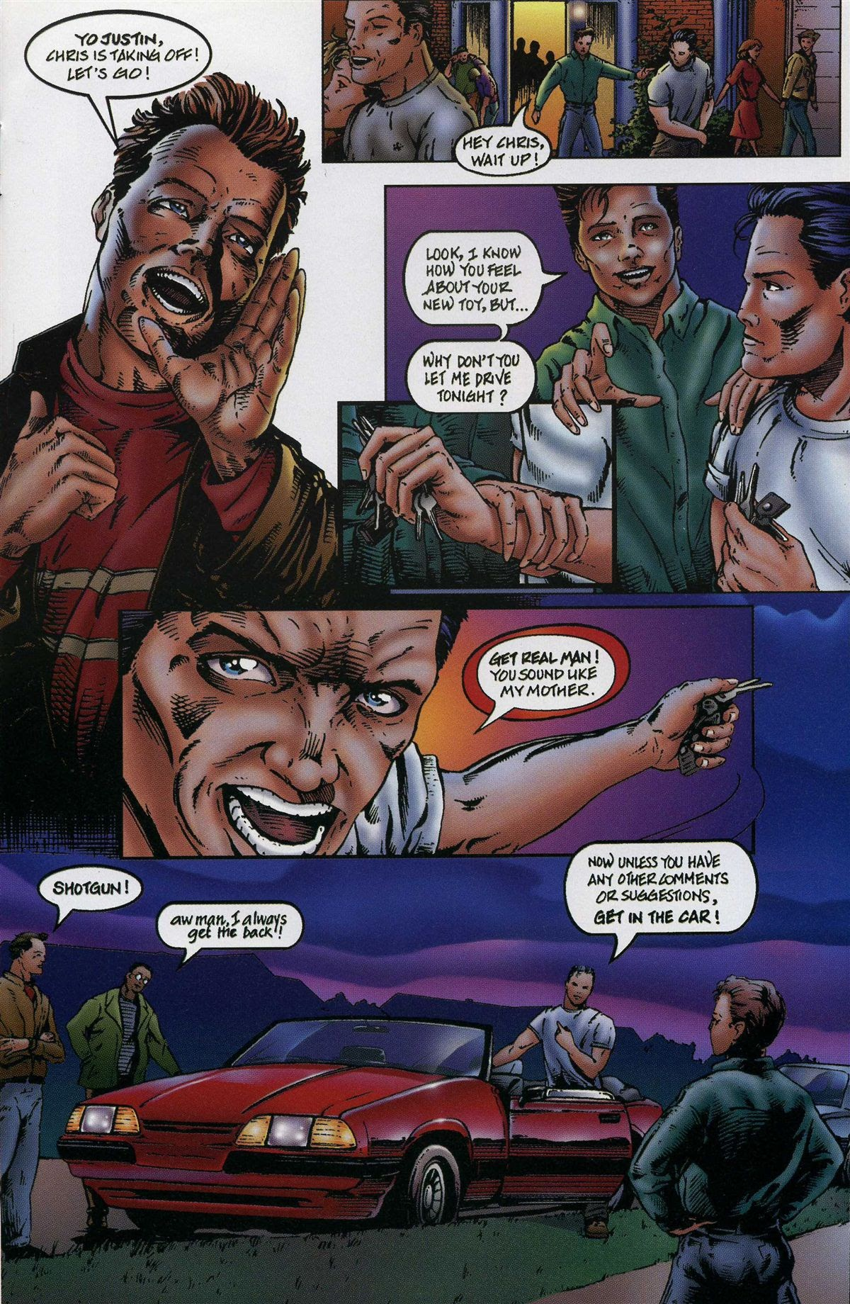 ArchAngels: The Saga issue 1 - Page 12