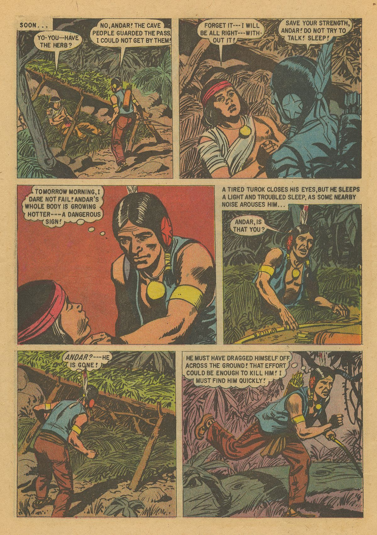 Read online Turok, Son of Stone comic -  Issue #16 - 28
