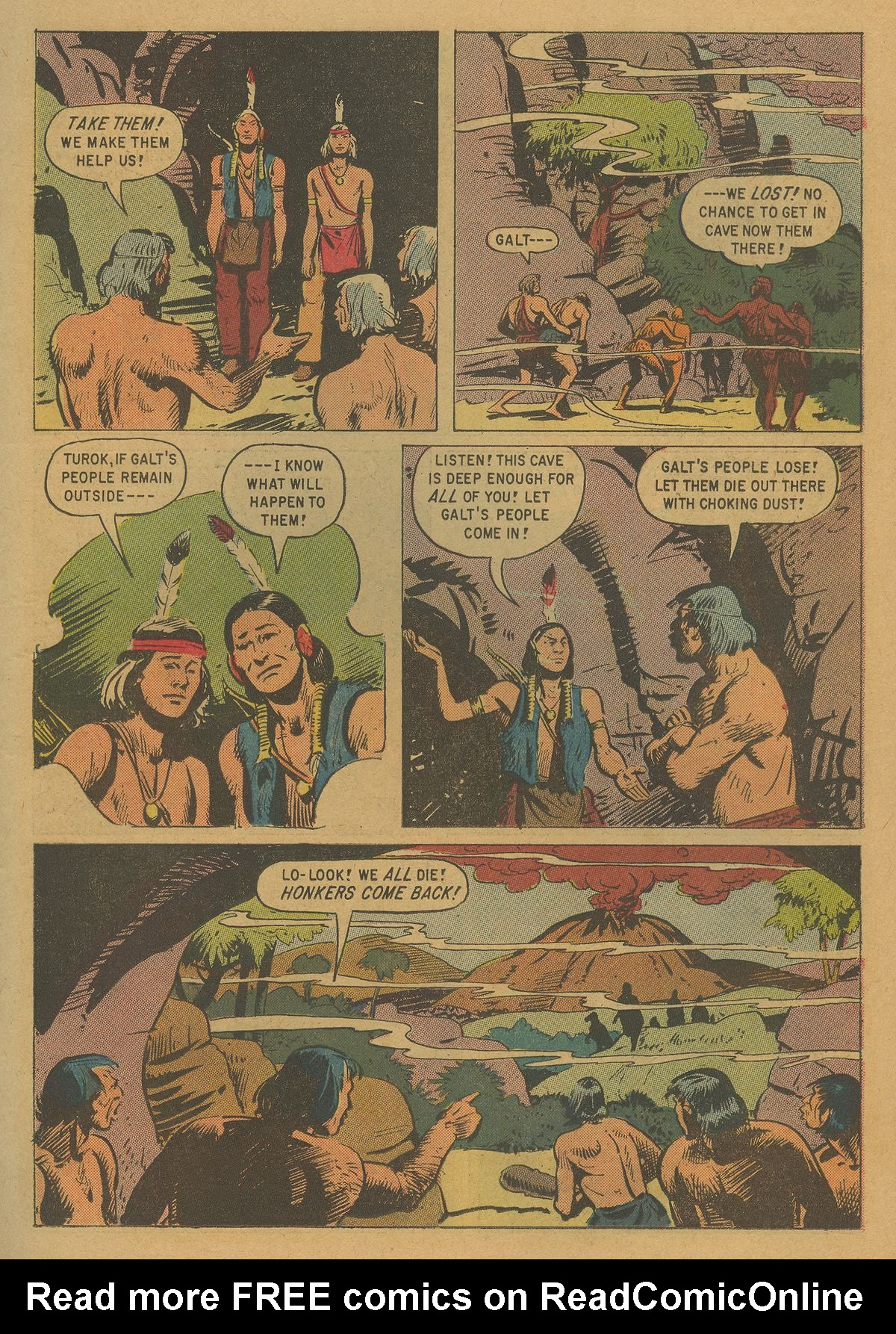 Read online Turok, Son of Stone comic -  Issue #20 - 11