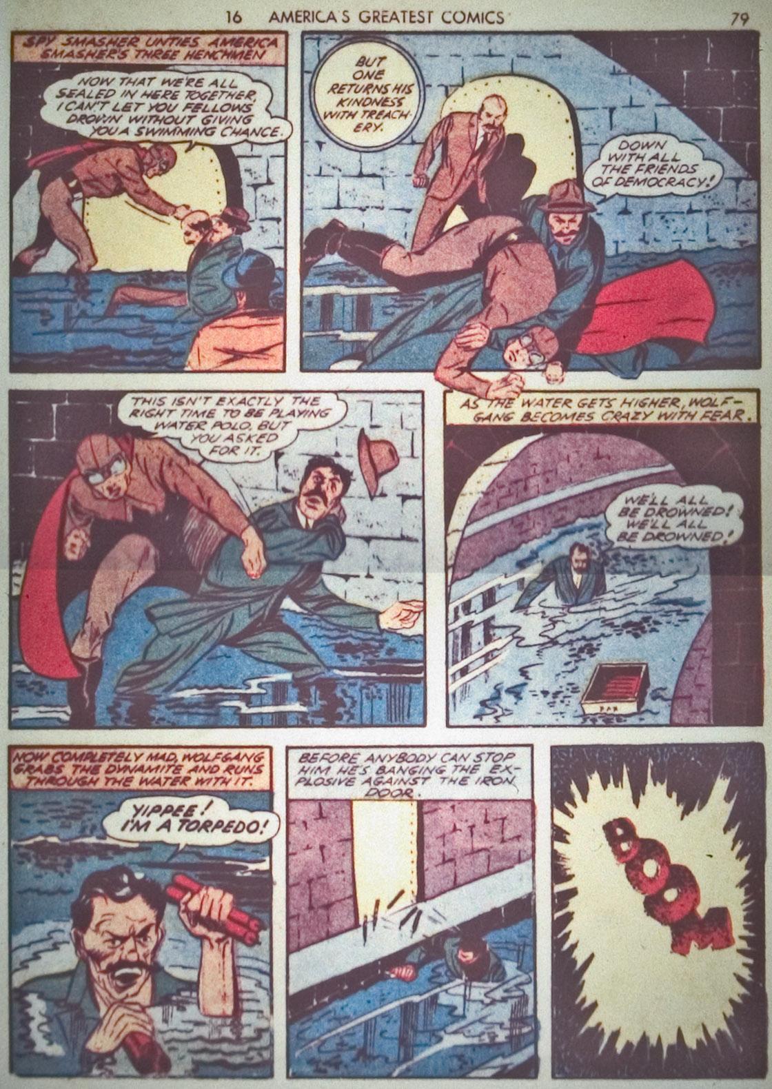 Read online America's Greatest Comics comic -  Issue #1 - 82