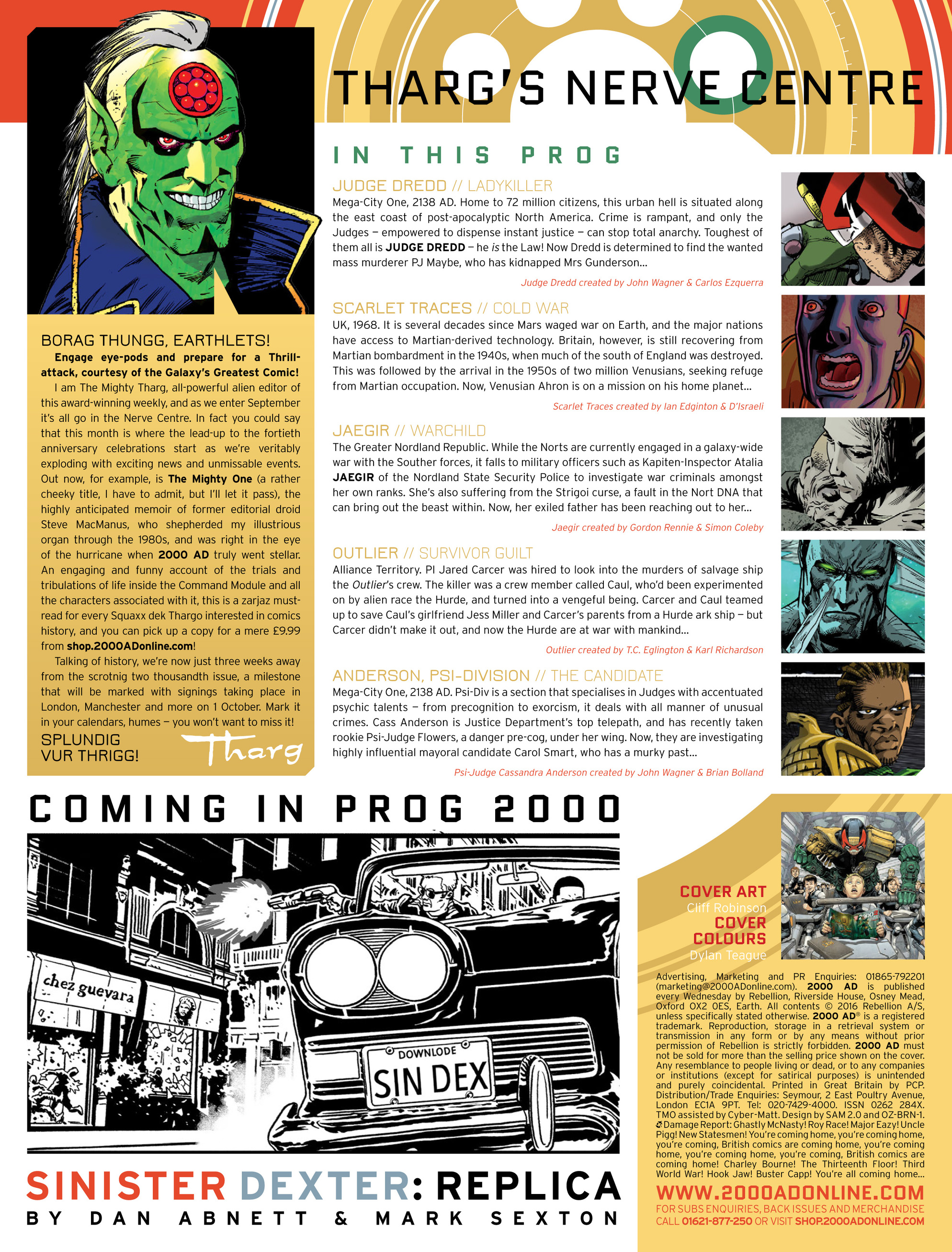 Read online 2000 AD comic -  Issue #1997 - 2