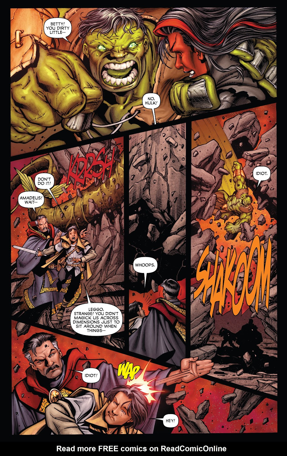Read online Incredible Hulks (2010) comic -  Issue # _TPB Heart of the Monster - 91