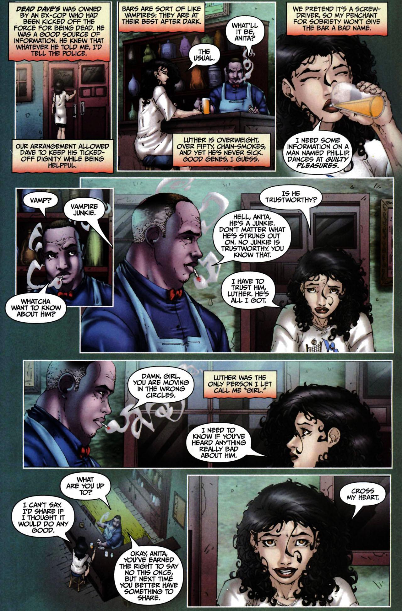Read online Anita Blake, Vampire Hunter: Guilty Pleasures comic -  Issue #6 - 3