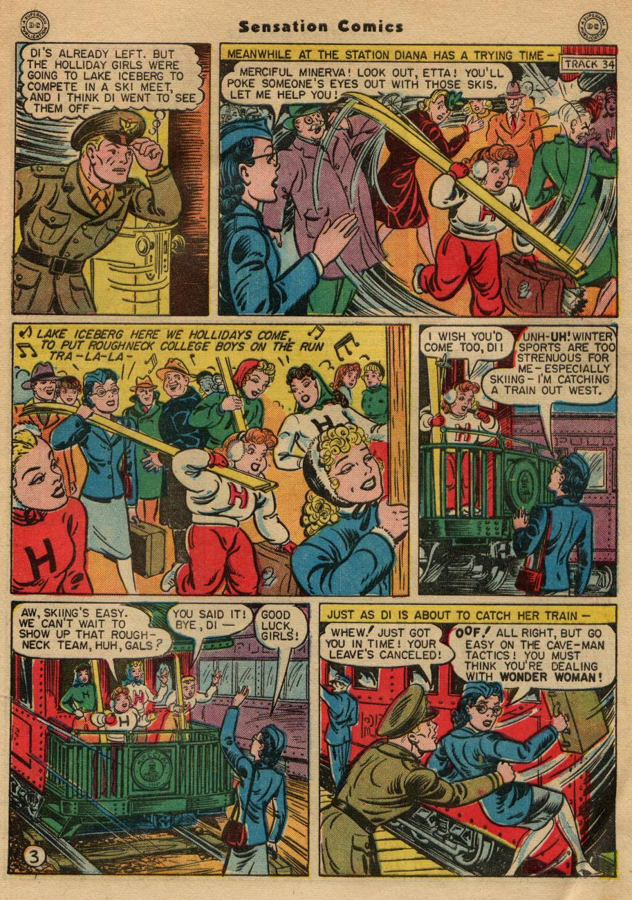 Read online Sensation (Mystery) Comics comic -  Issue #49 - 5