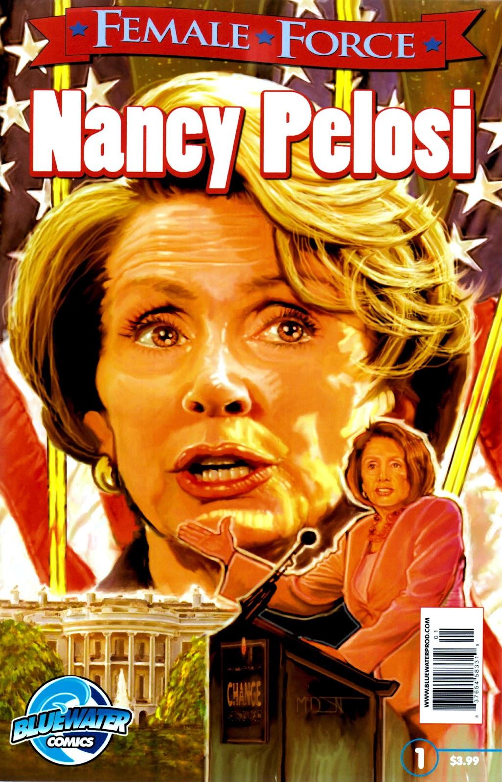 Female Force: Nancy Pelosi Full Page 1