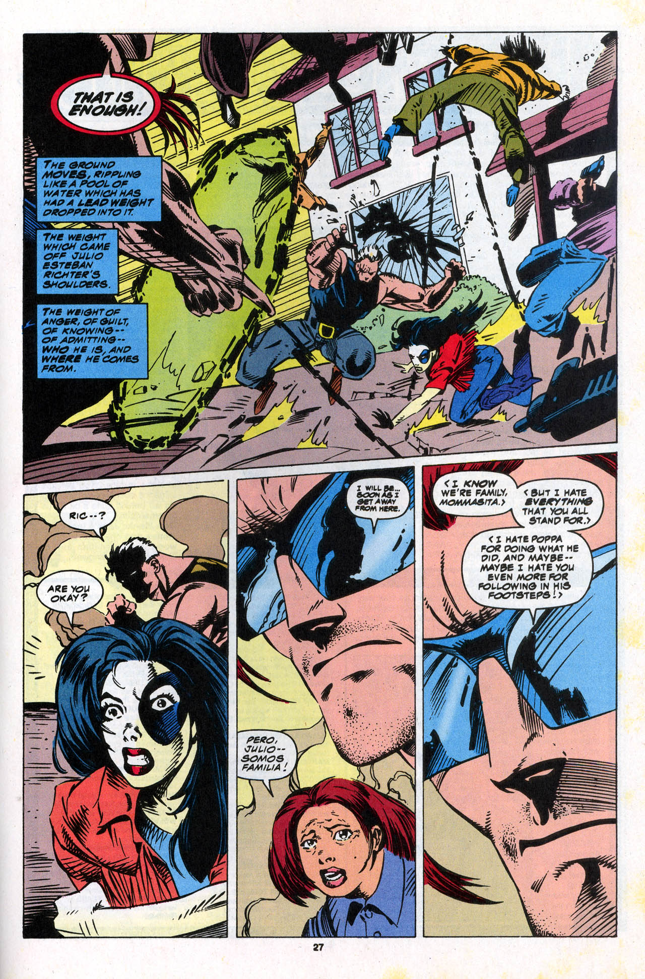 Read online X-Force (1991) comic -  Issue #34 - 27