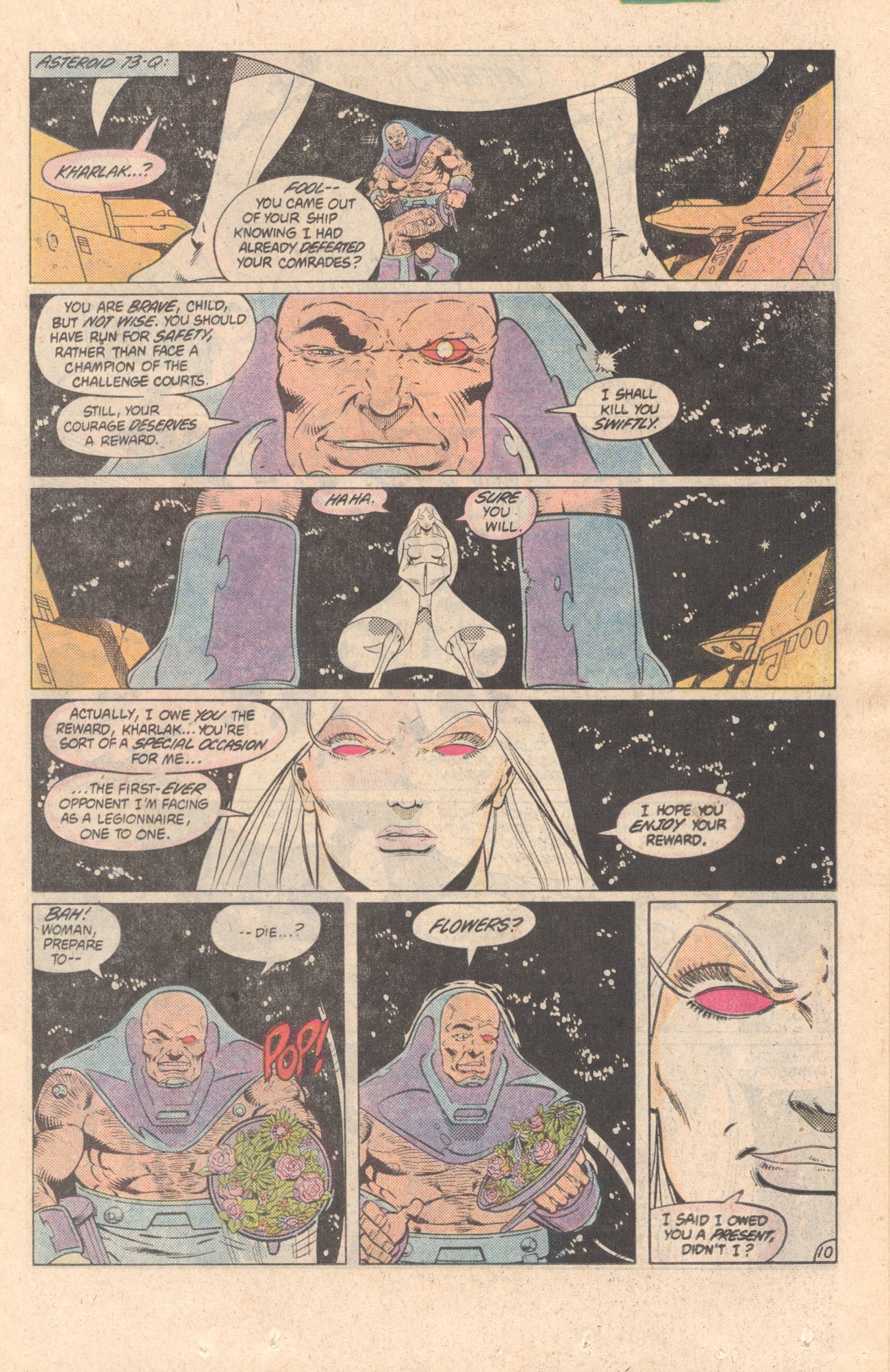 Legion of Super-Heroes (1980) 299 Page 10