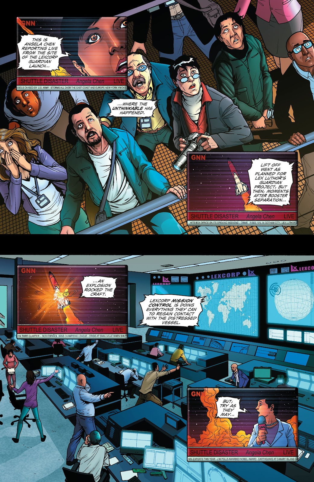 Read online Smallville Season 11 [II] comic -  Issue # TPB 1 - 59