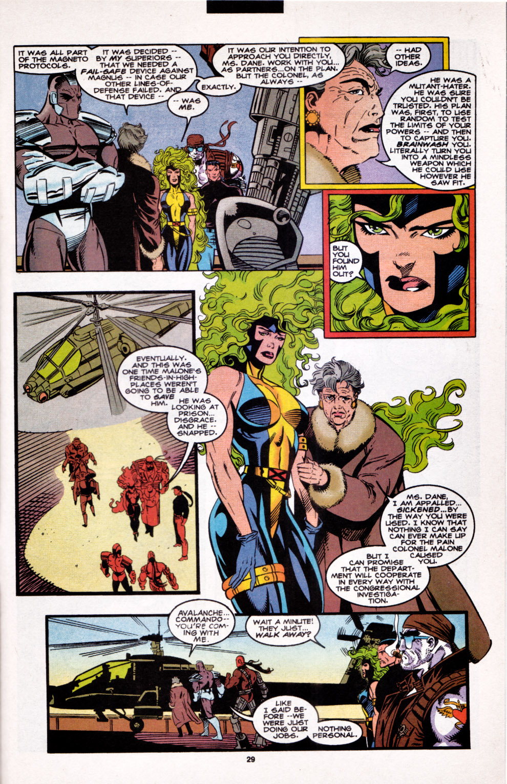 Read online X-Factor (1986) comic -  Issue #102 - 21