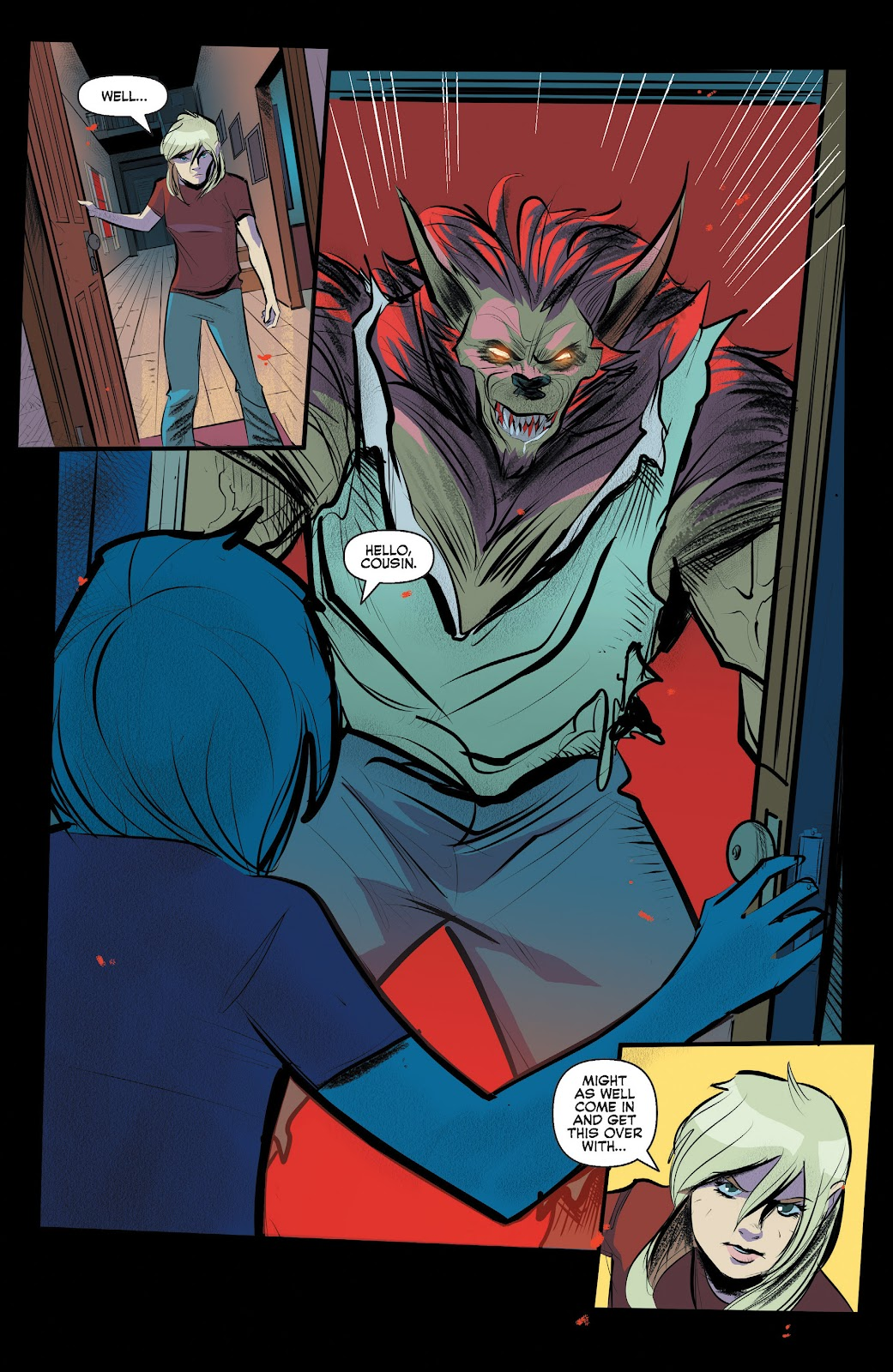 Read online Jughead The Hunger comic -  Issue #13 - 7