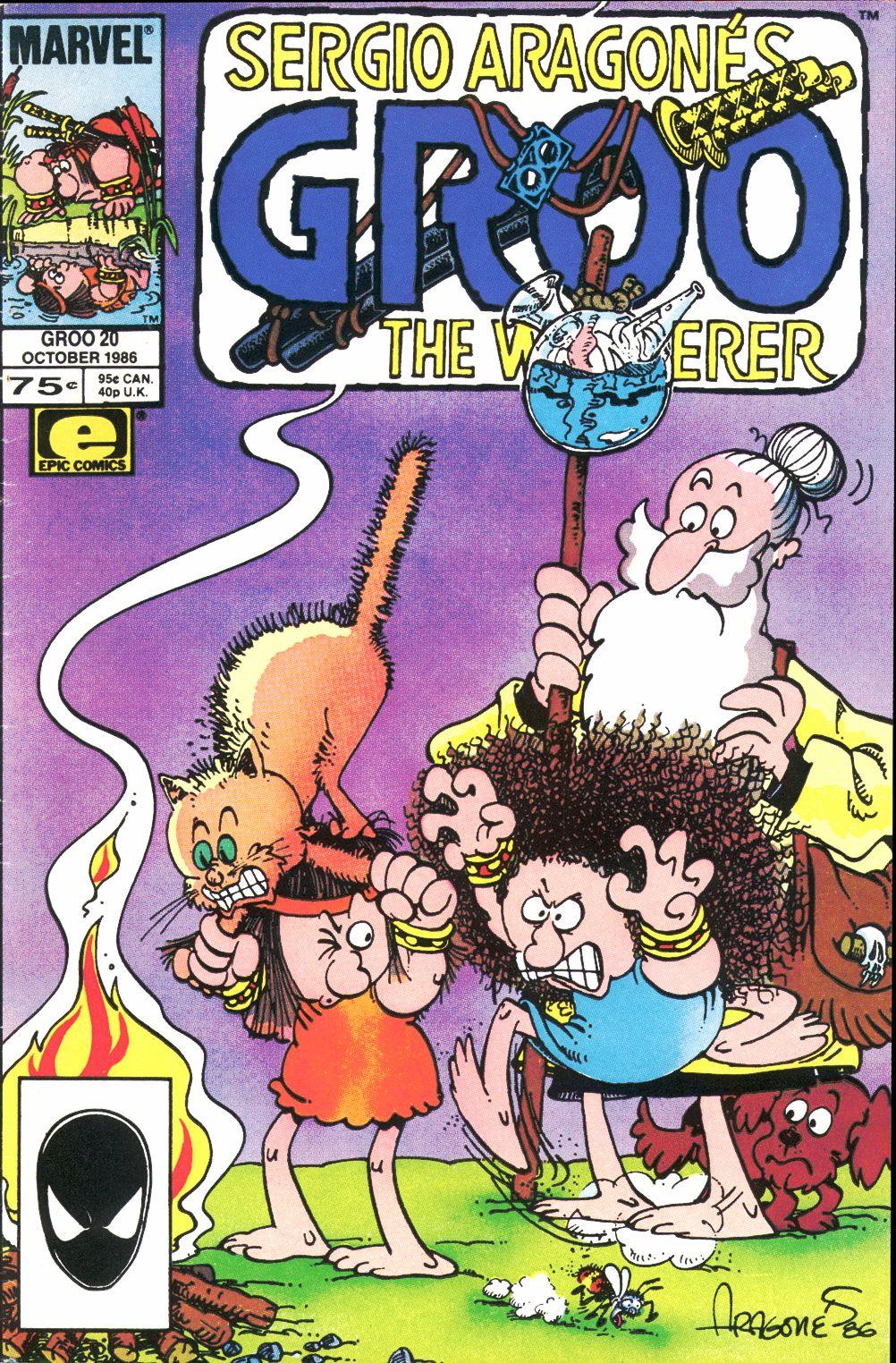 Read online Sergio Aragonés Groo the Wanderer comic -  Issue #20 - 1