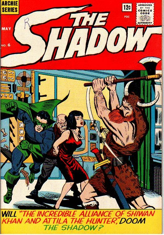 The Shadow (1964) 6 Page 1