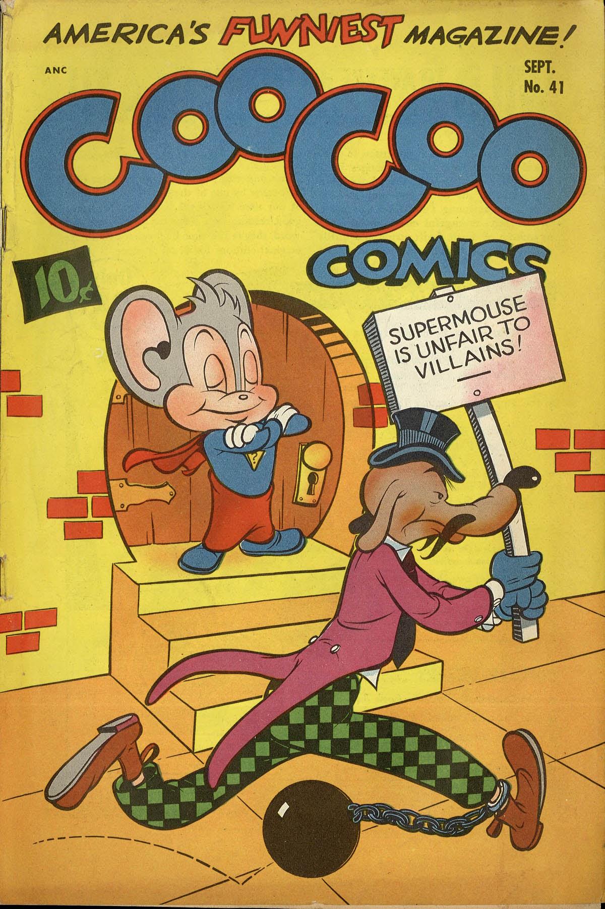 Coo Coo Comics 41 Page 1