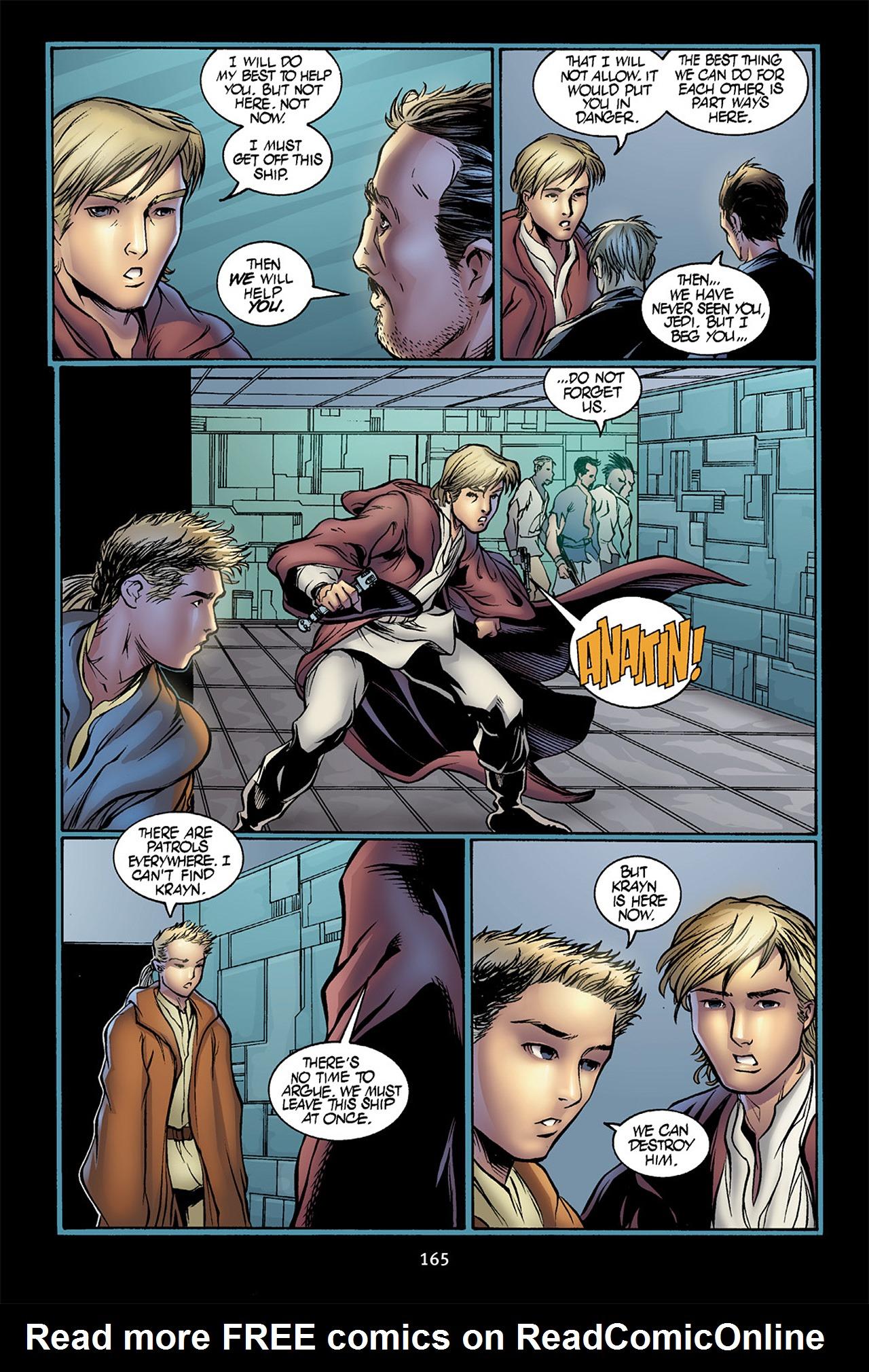 Read online Star Wars Omnibus comic -  Issue # Vol. 10 - 164