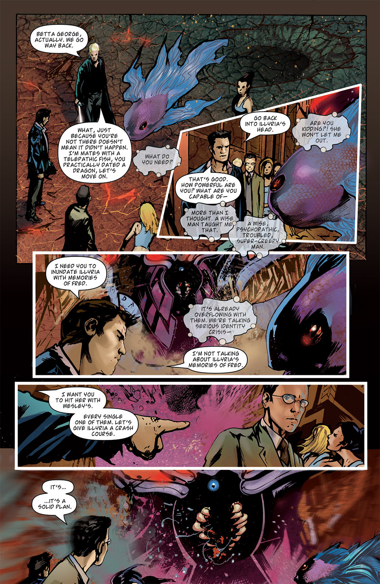 Read online Angel: After The Fall comic -  Issue #15 - 20