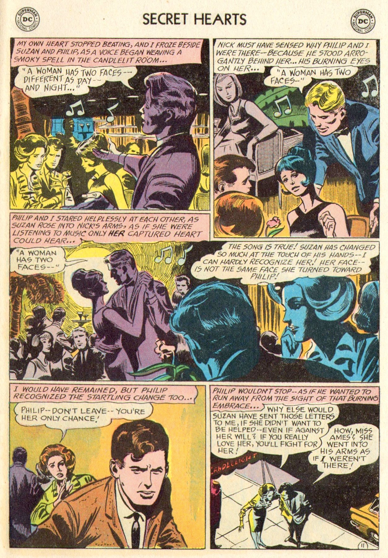 Read online Secret Hearts comic -  Issue #104 - 31