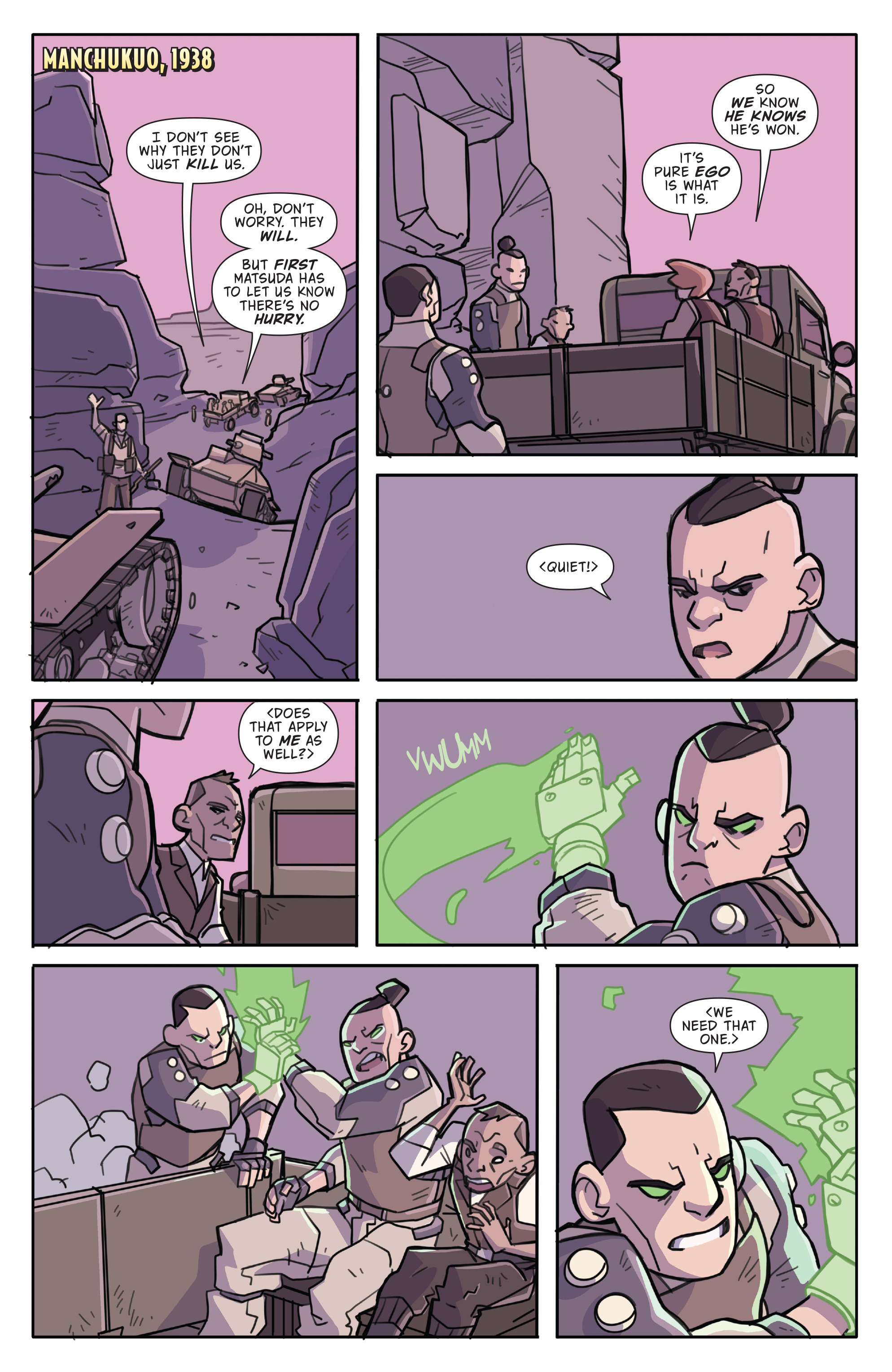 Read online Atomic Robo and the Temple of Od comic -  Issue #4 - 6
