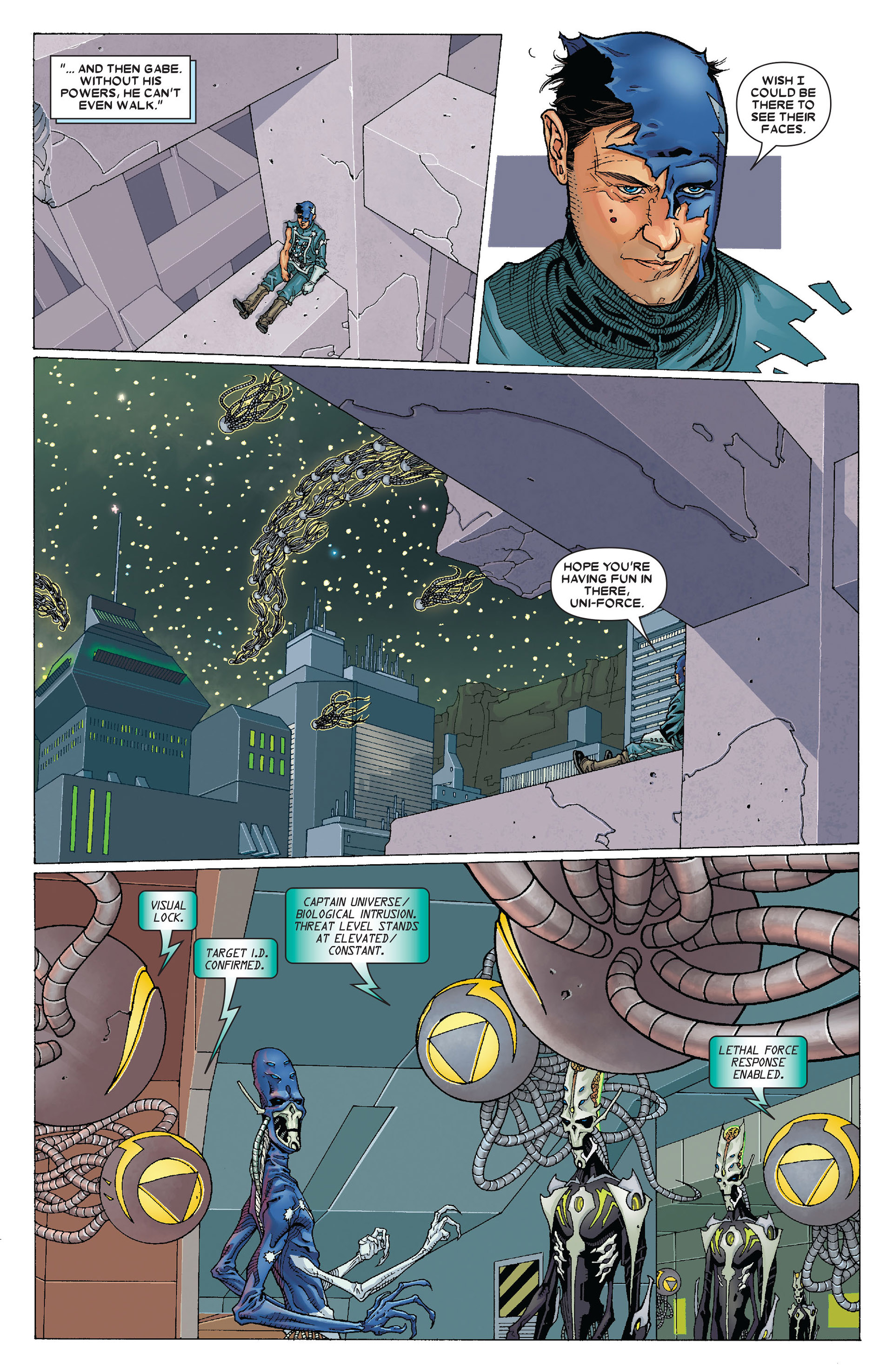 Read online Annihilation: Conquest - Starlord comic -  Issue #4 - 8