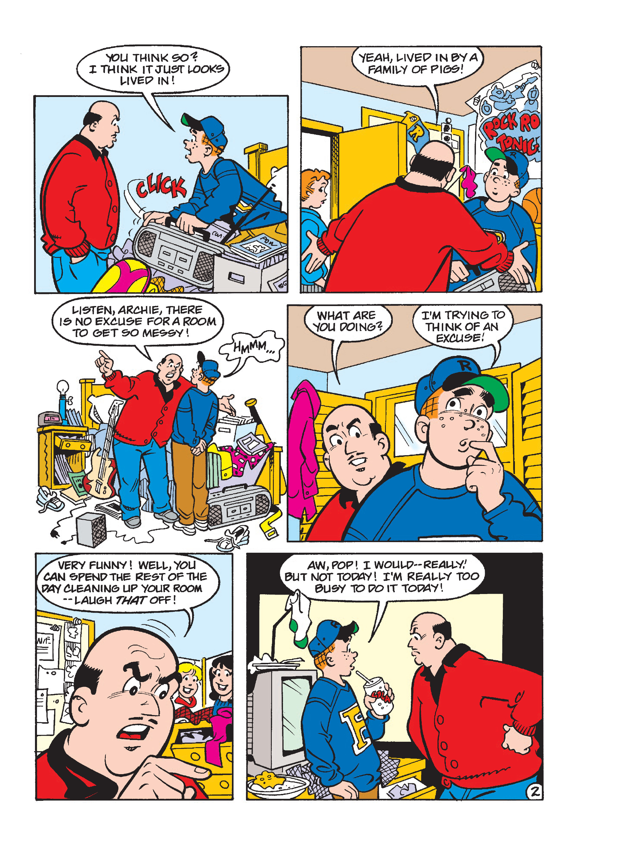 Read online Archie's Funhouse Double Digest comic -  Issue #23 - 142