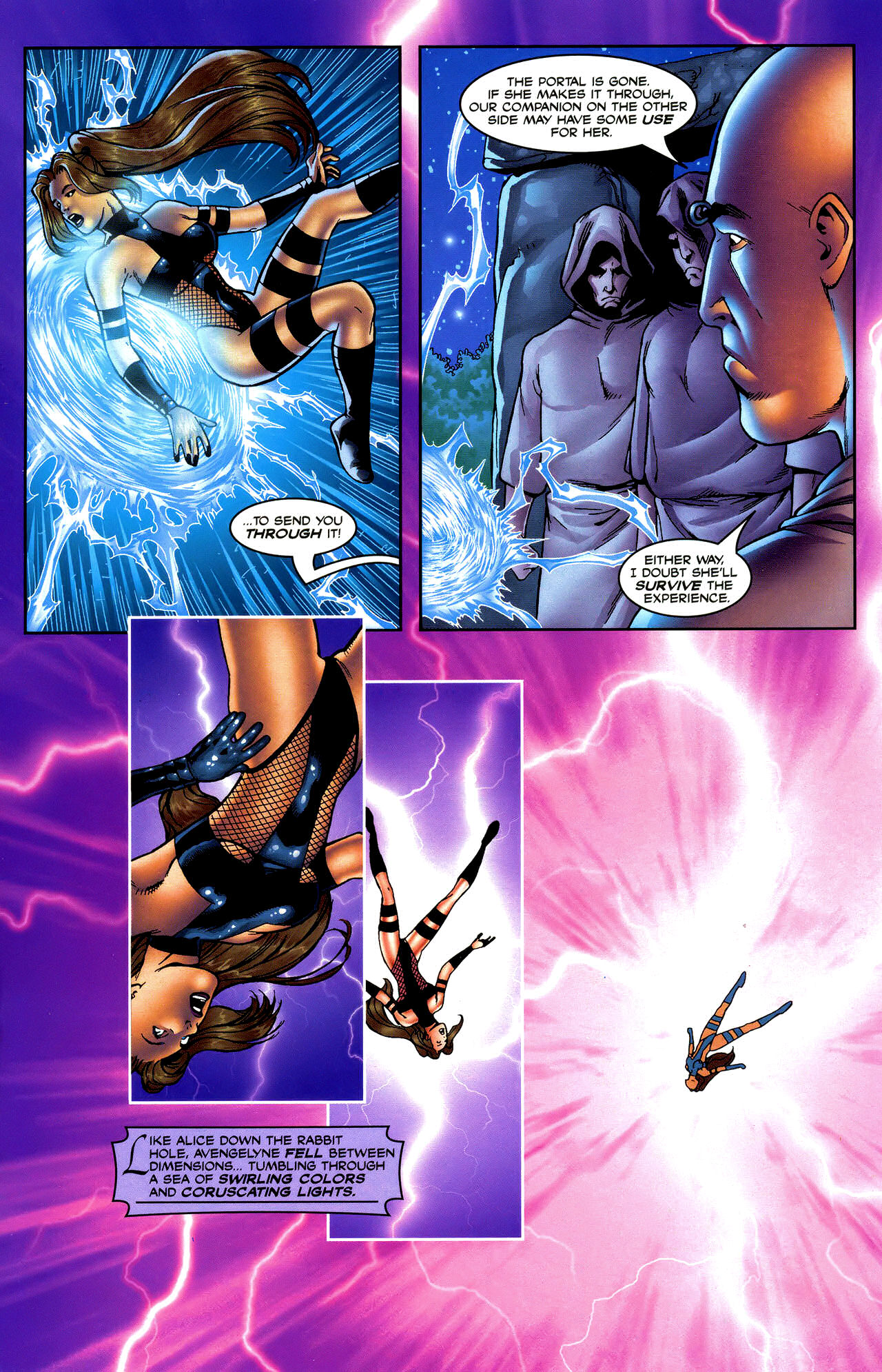 Read online Avengelyne: Dragon Realm comic -  Issue #0.5 - 17