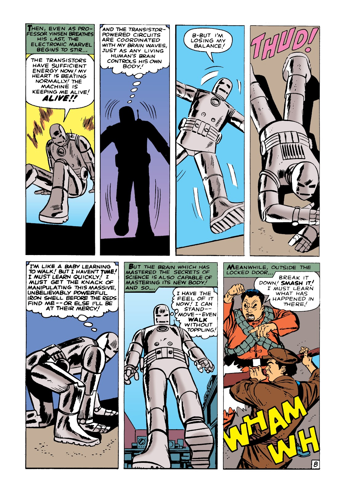 Read online Marvel Masterworks: The Invincible Iron Man comic -  Issue # TPB 1 (Part 1) - 11