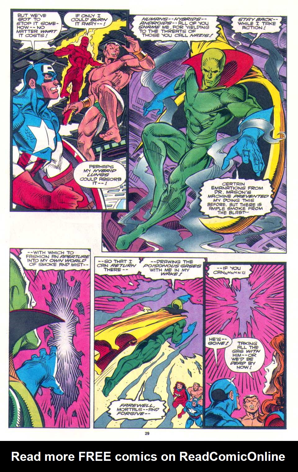 Read online The Invaders (1993) comic -  Issue #4 - 23