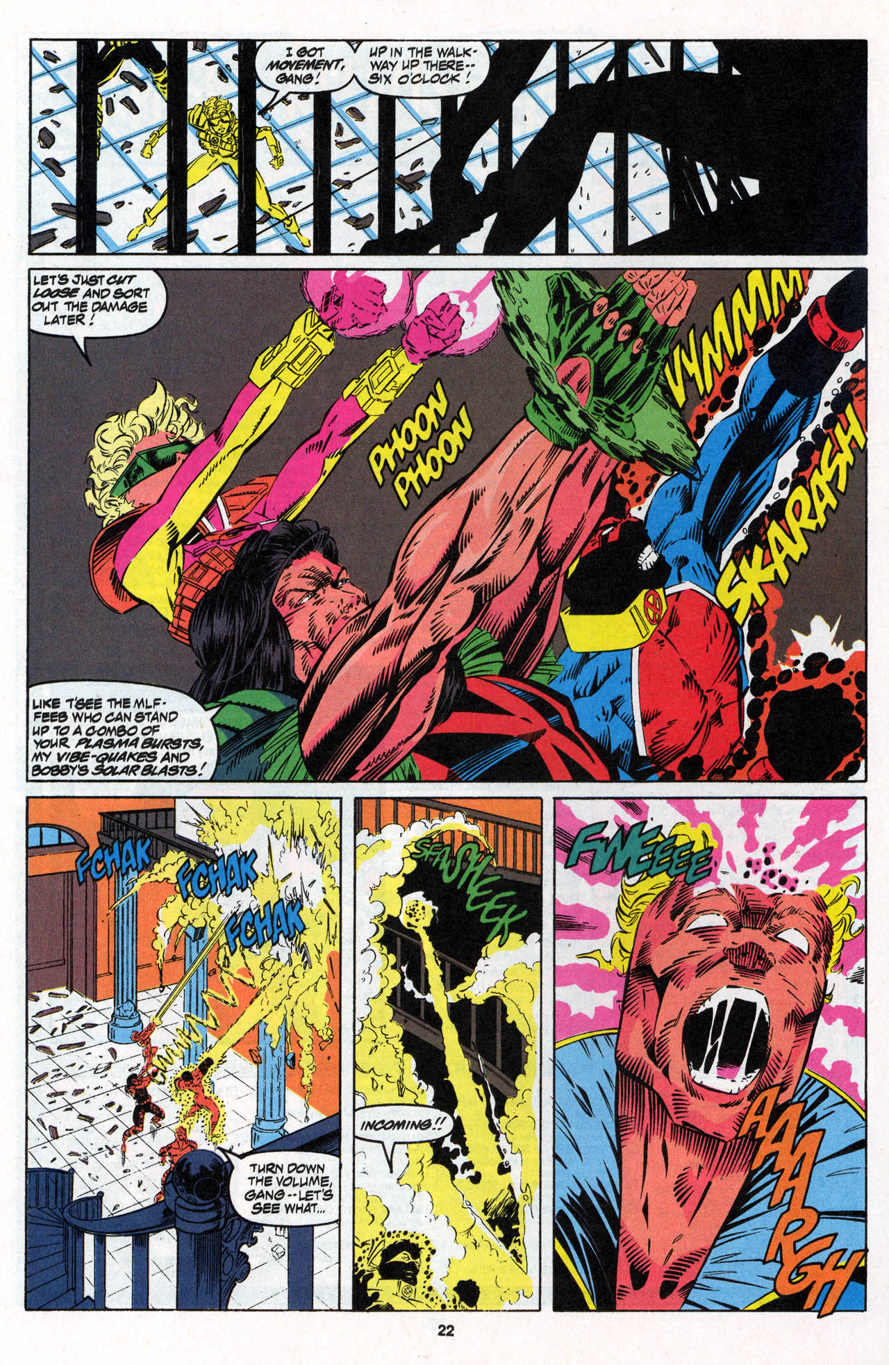 Read online X-Force (1991) comic -  Issue #27 - 23