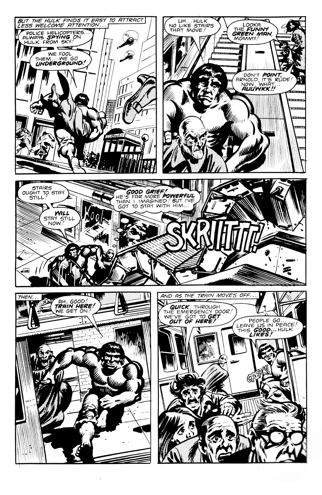 Read online Hulk: From The Marvel UK Vaults comic -  Issue # TPB (Part 2) - 50