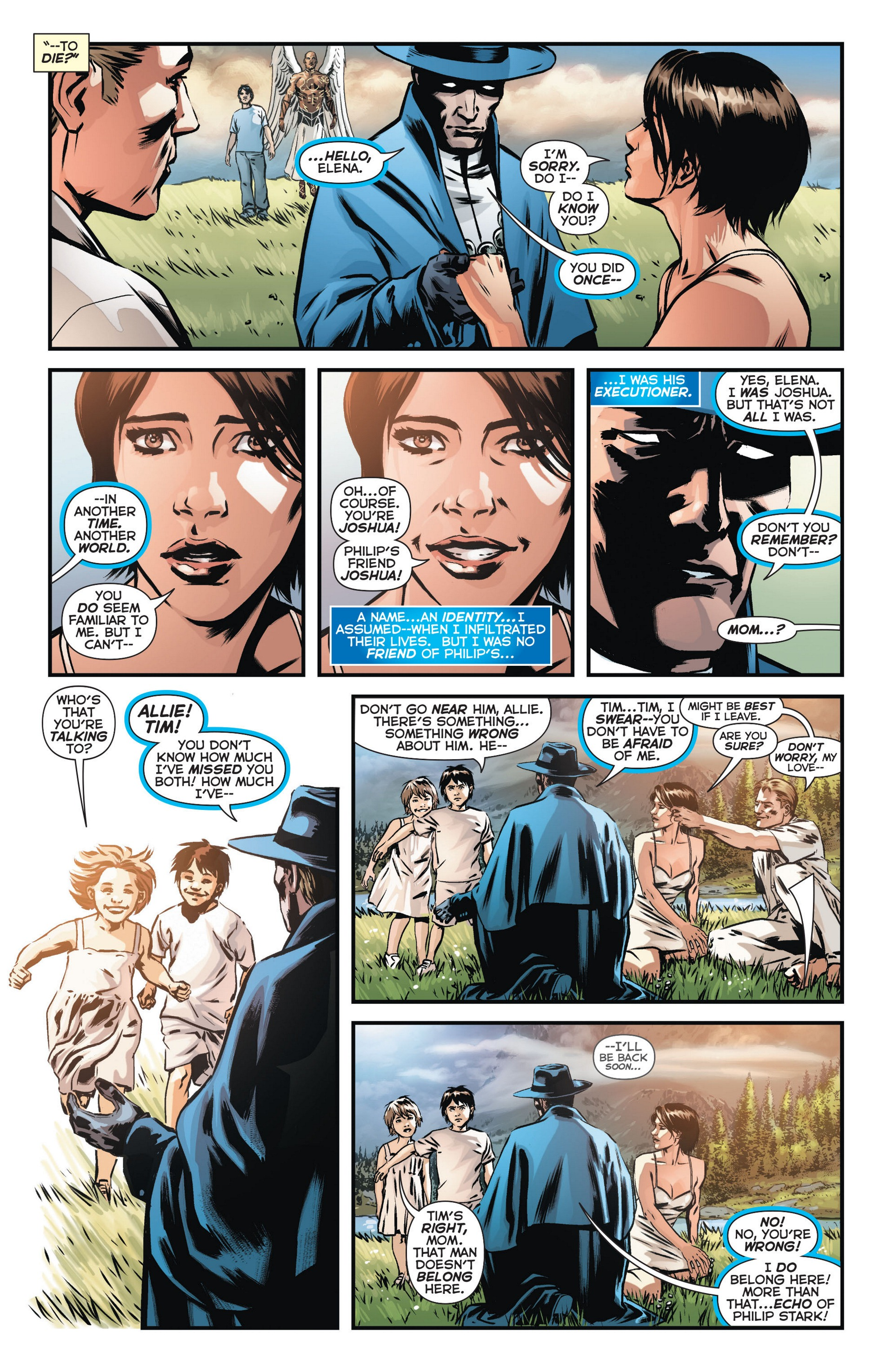 Read online Trinity of Sin: The Phantom Stranger comic -  Issue #10 - 13