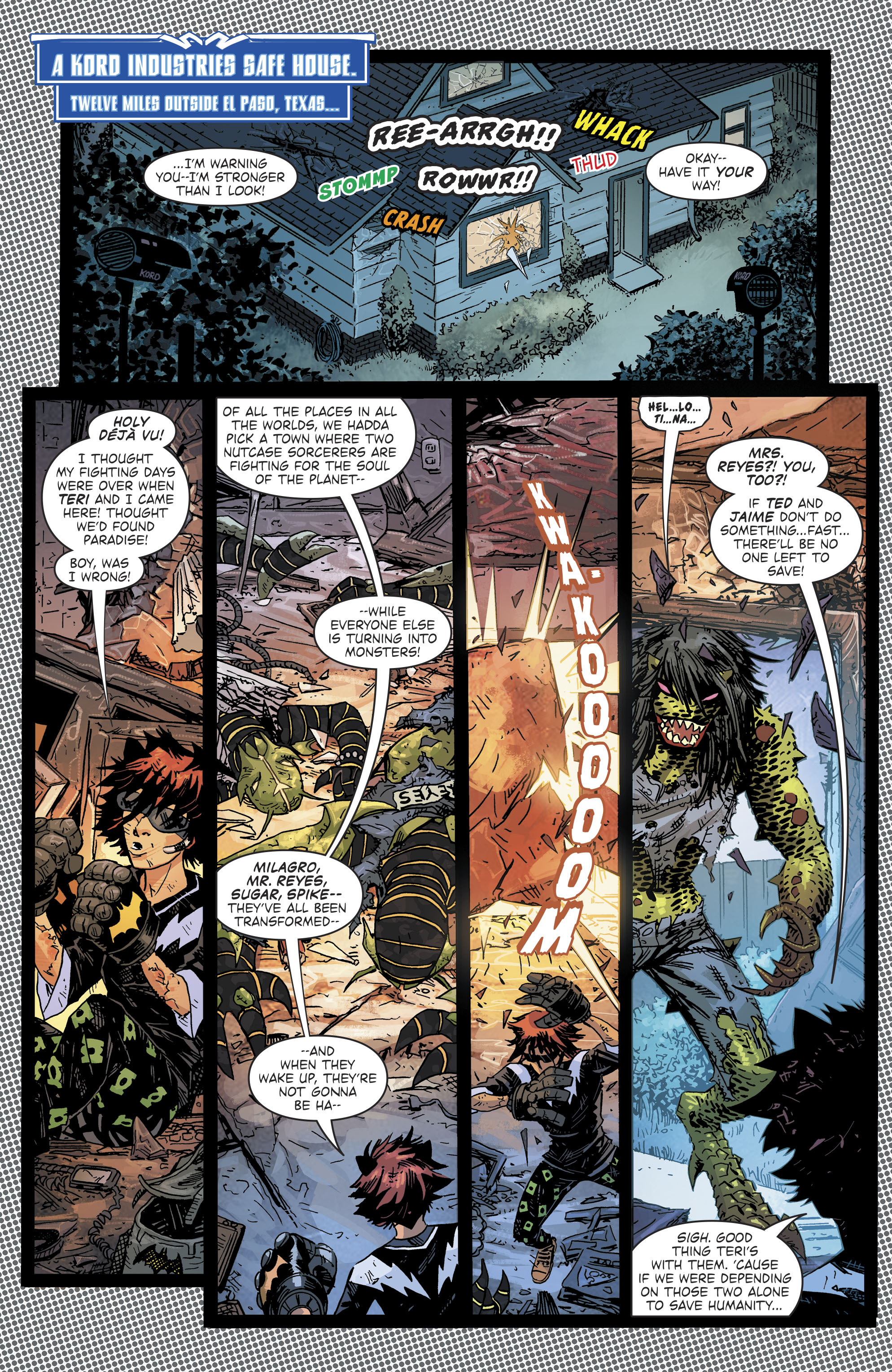 Read online Blue Beetle (2016) comic -  Issue #9 - 4