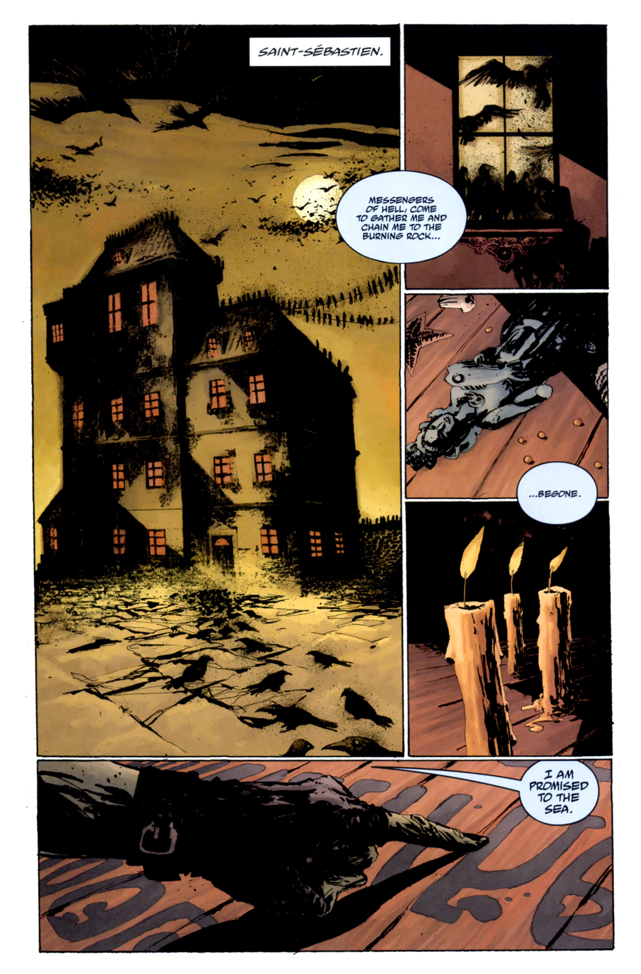Read online Abe Sapien: The Drowning comic -  Issue #4 - 3