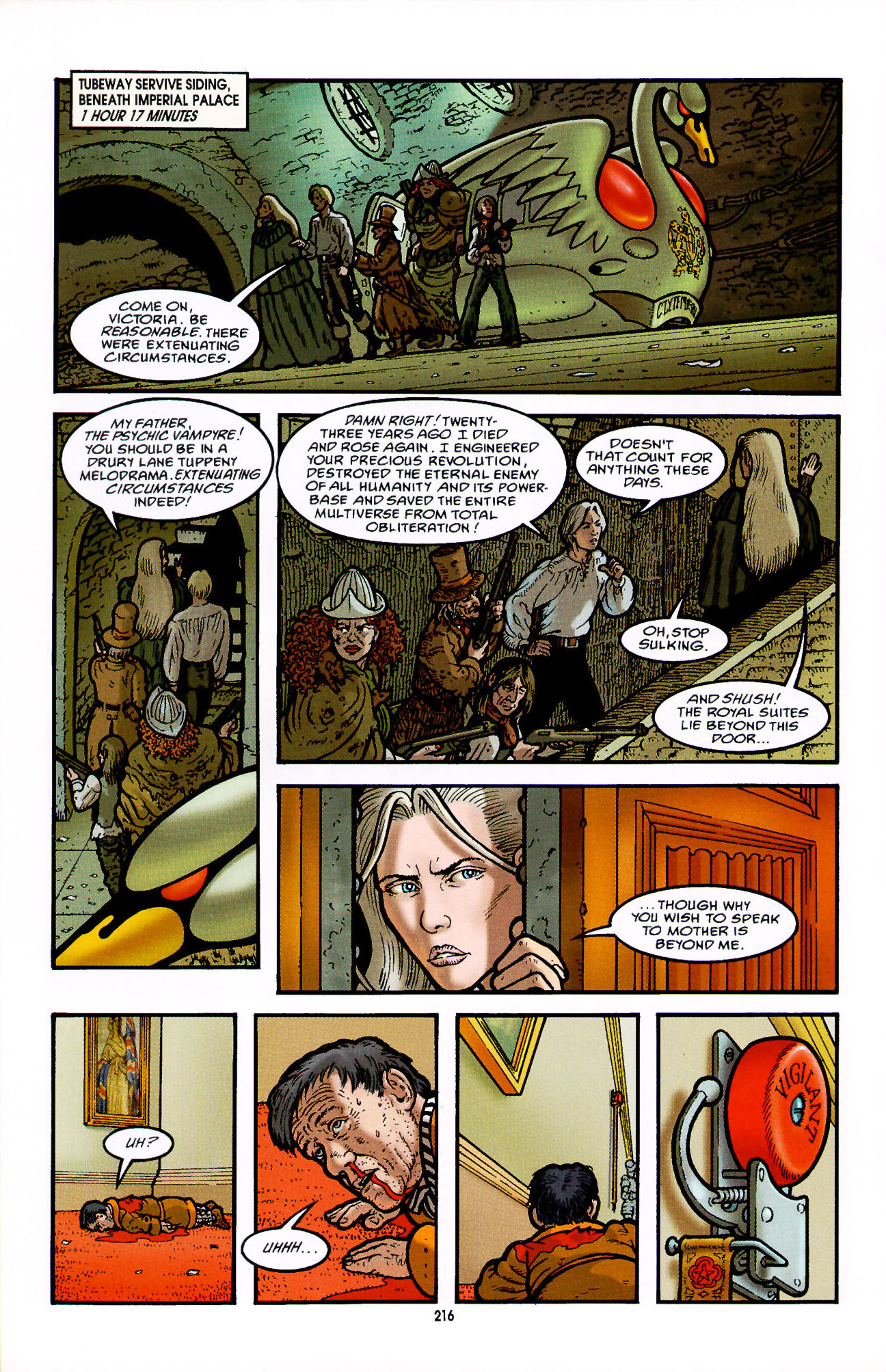 Read online Heart of Empire comic -  Issue #7 - 22