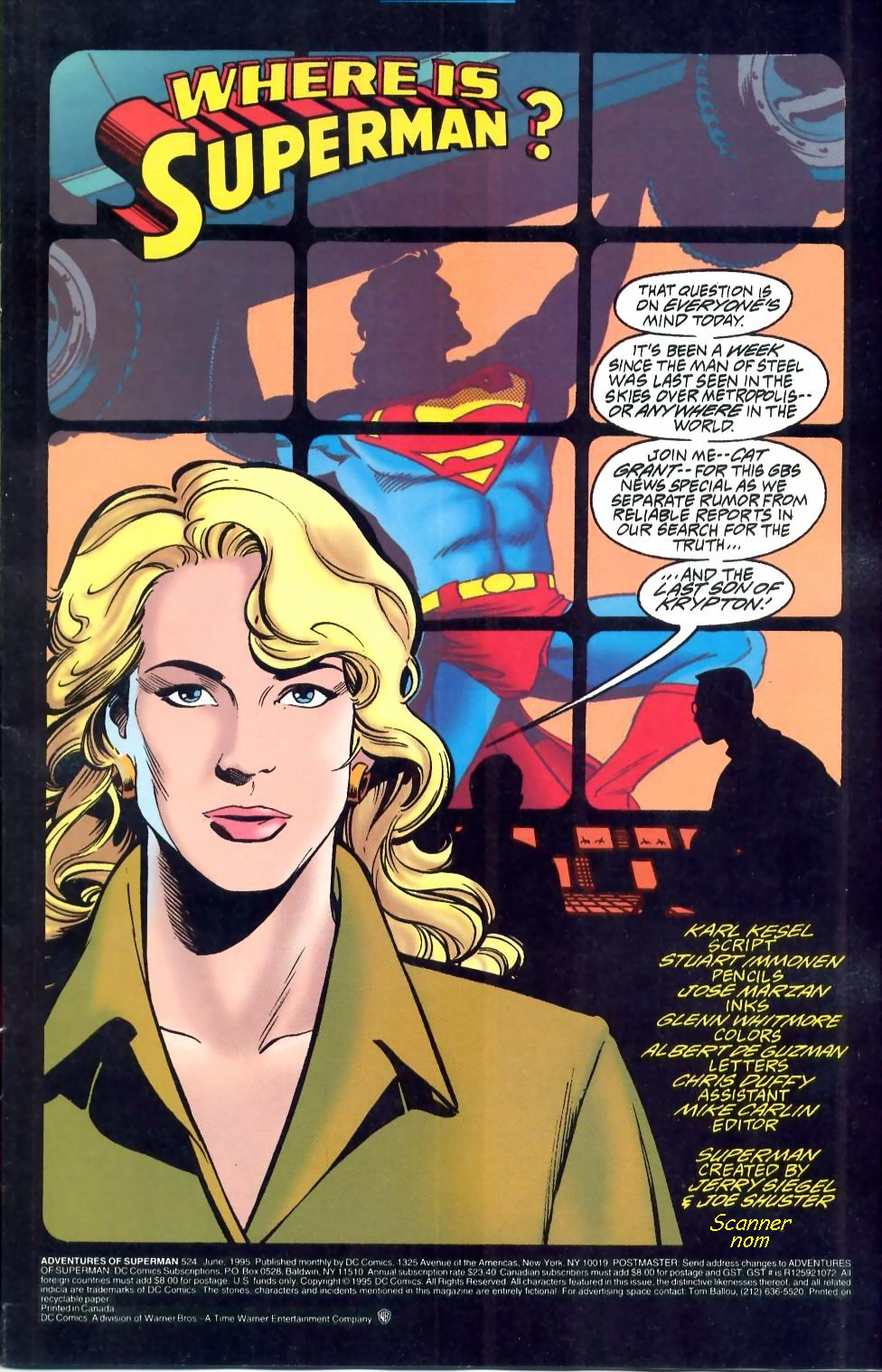 Read online Adventures of Superman (1987) comic -  Issue #524 - 2
