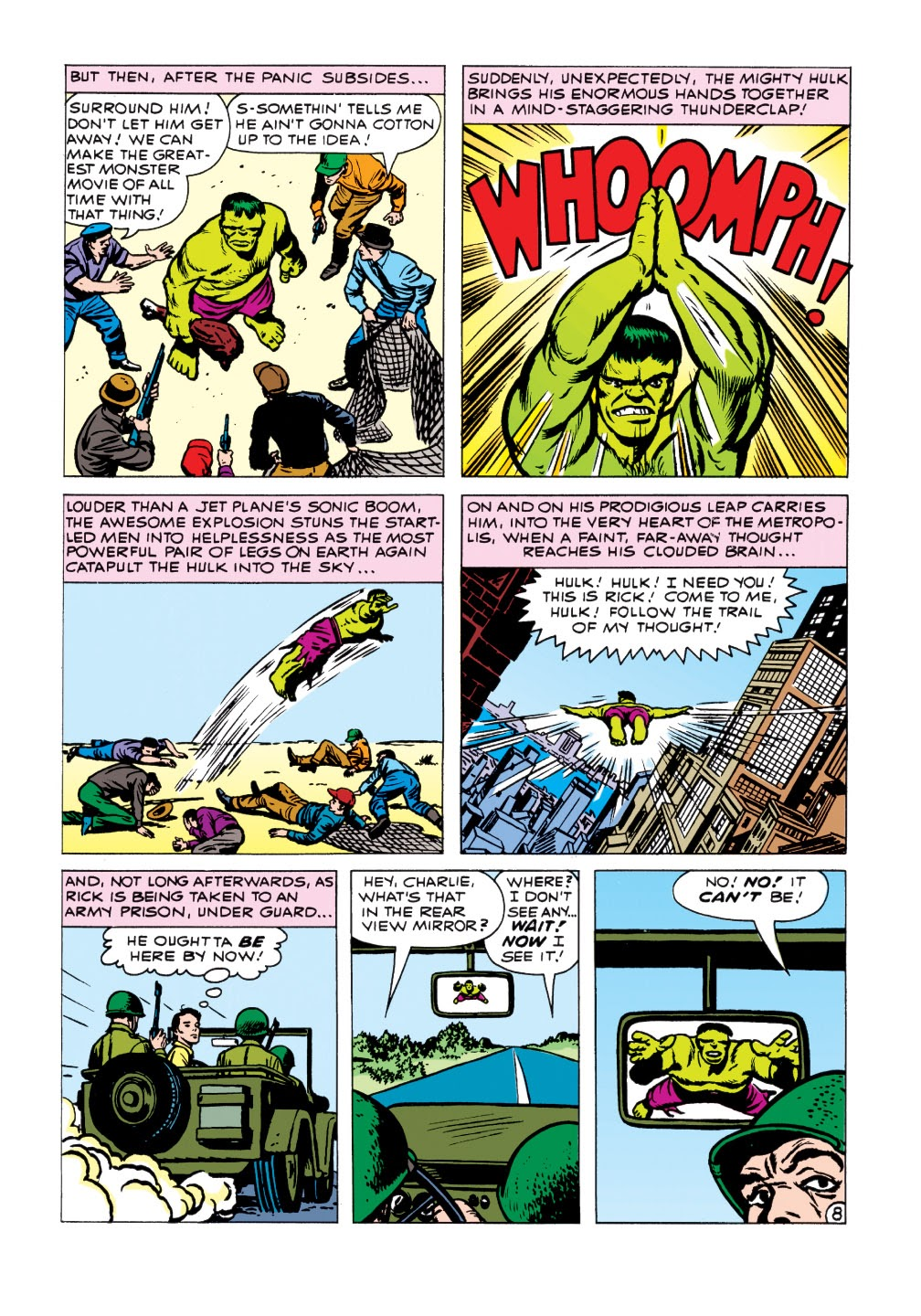 Read online Marvel Masterworks: The Incredible Hulk comic -  Issue # TPB 1 (Part 1) - 86