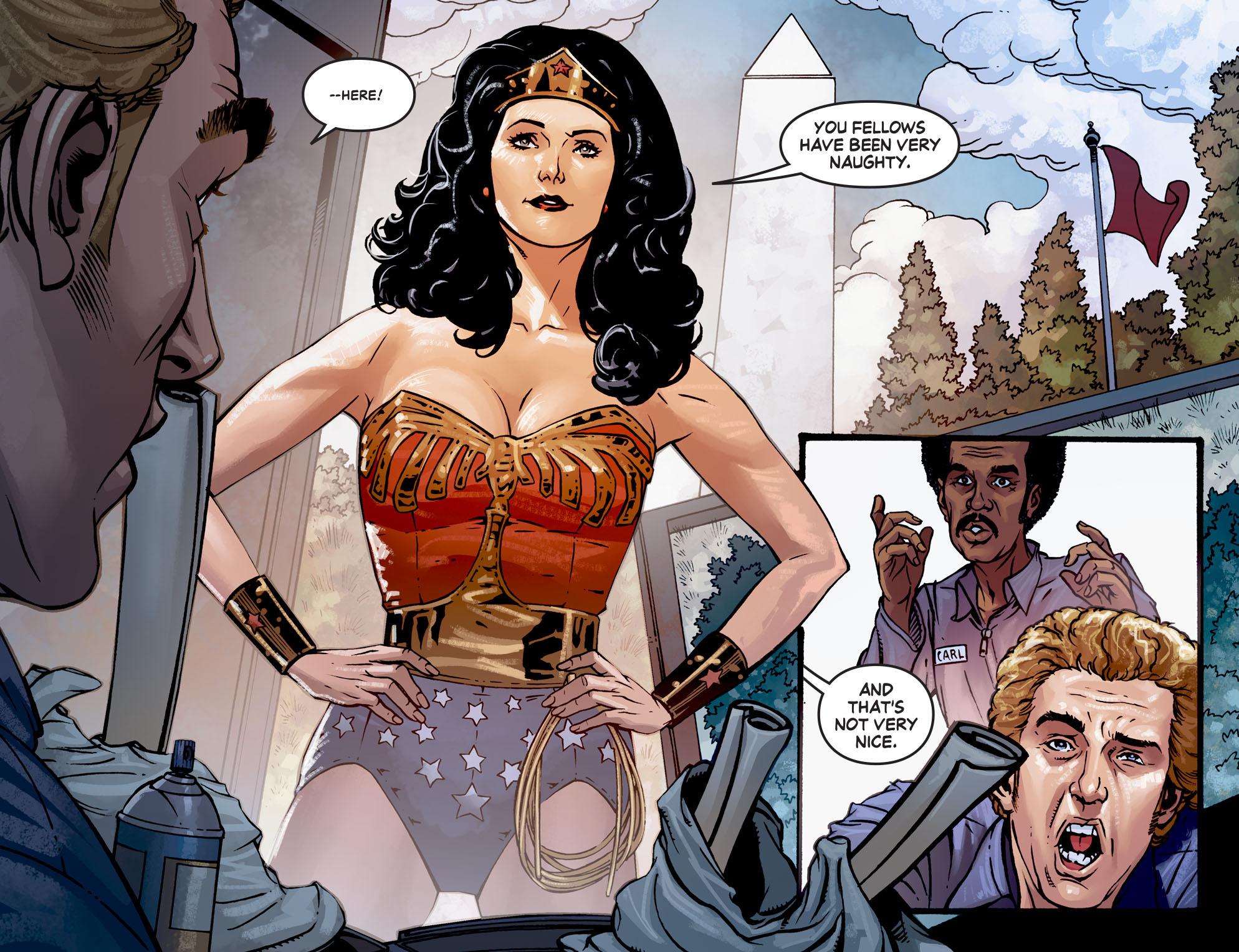 Read online Wonder Woman '77 [I] comic -  Issue #7 - 11